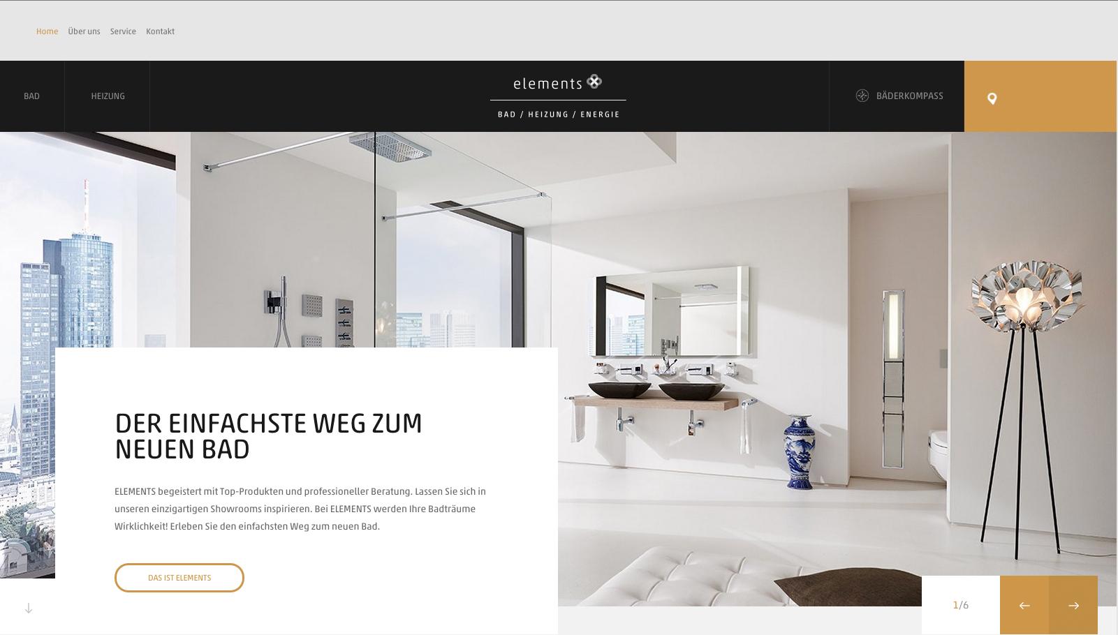 Mit Elements auf dem einfachsten Weg zum neuen Bad / Die neue ...