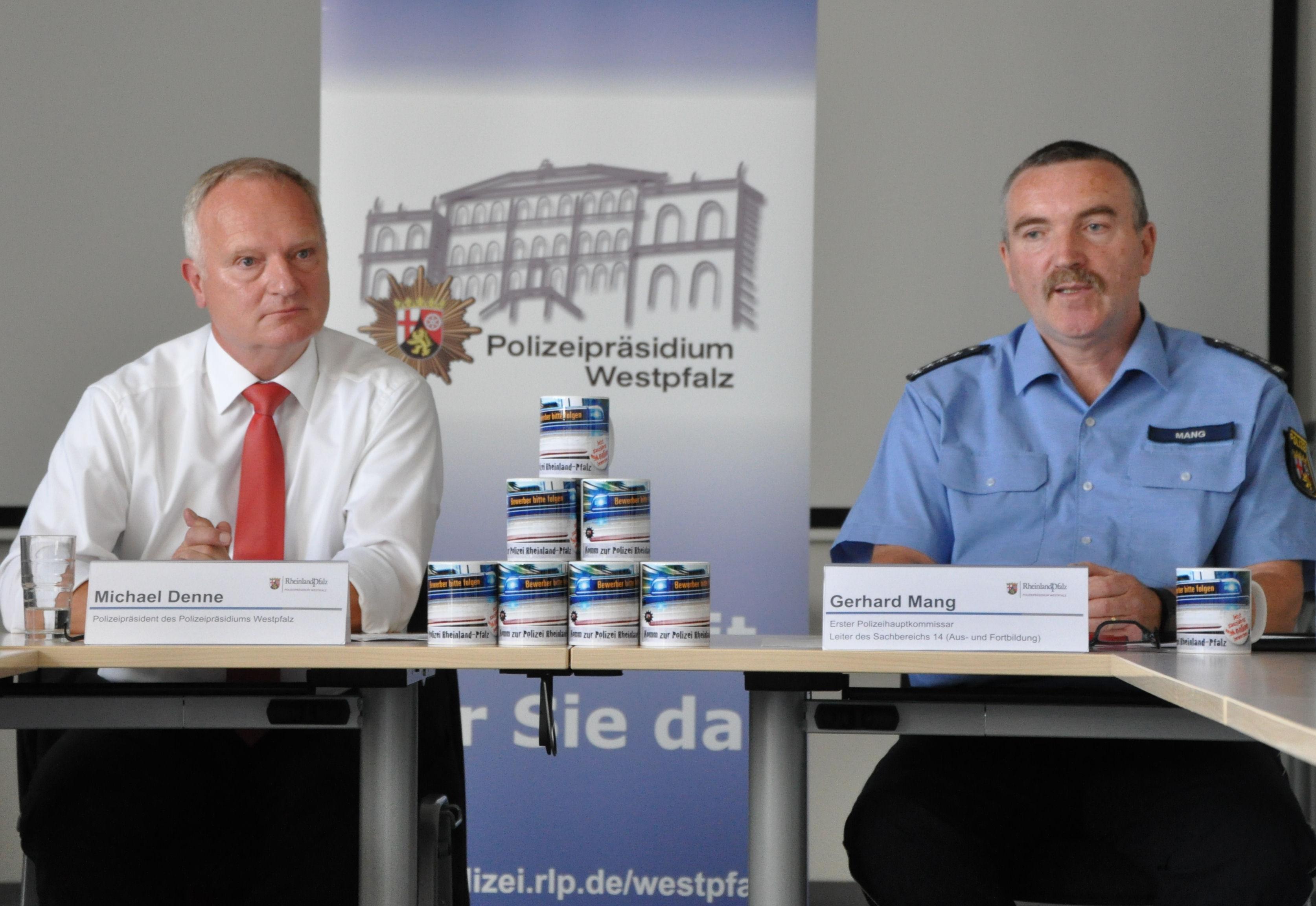 pol ppwp polizei forciert ihre nachwuchswerbung eine tassenaktion bildet den auftakt presseportal - Polizei Rlp Bewerbung