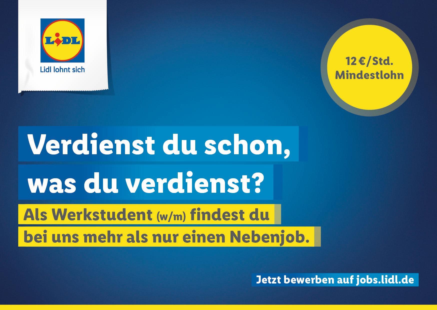 lidl schafft ber 500 neue jobs in frankfurt und umgebung - Lidl Online Bewerbung