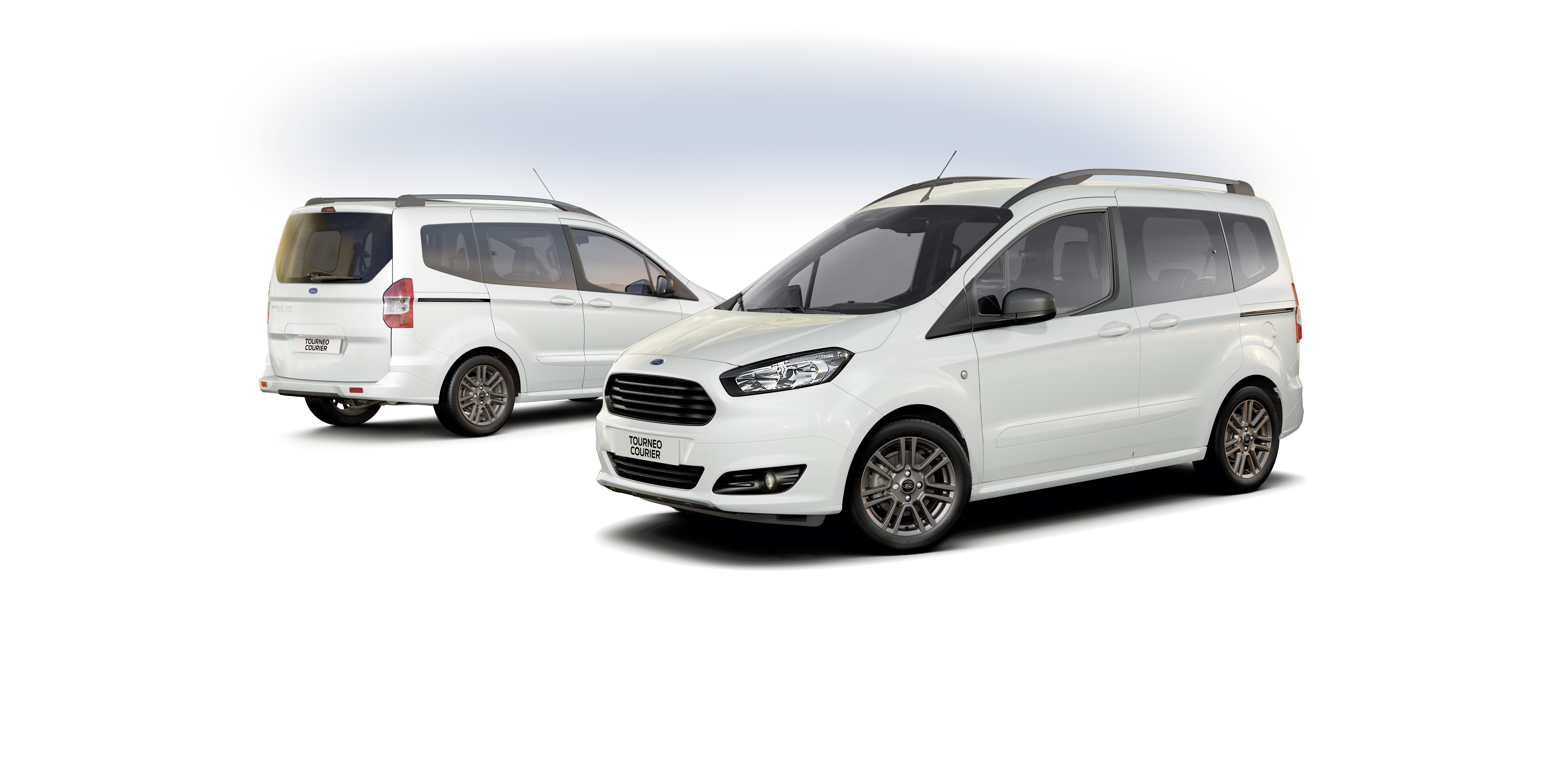 ford transit courier und ford tourneo courier jetzt auch. Black Bedroom Furniture Sets. Home Design Ideas