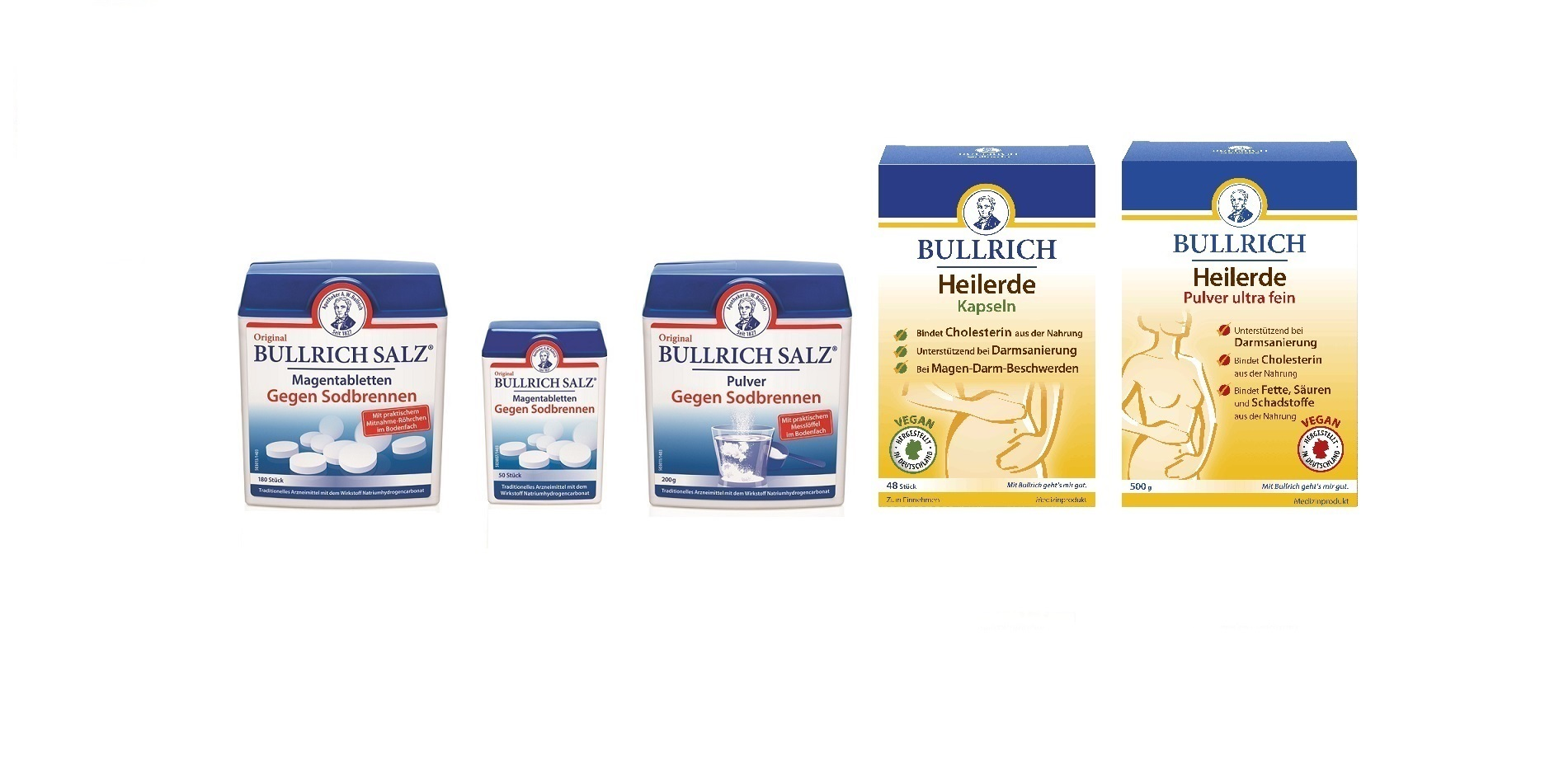 bullrich salz tabletten einnahme