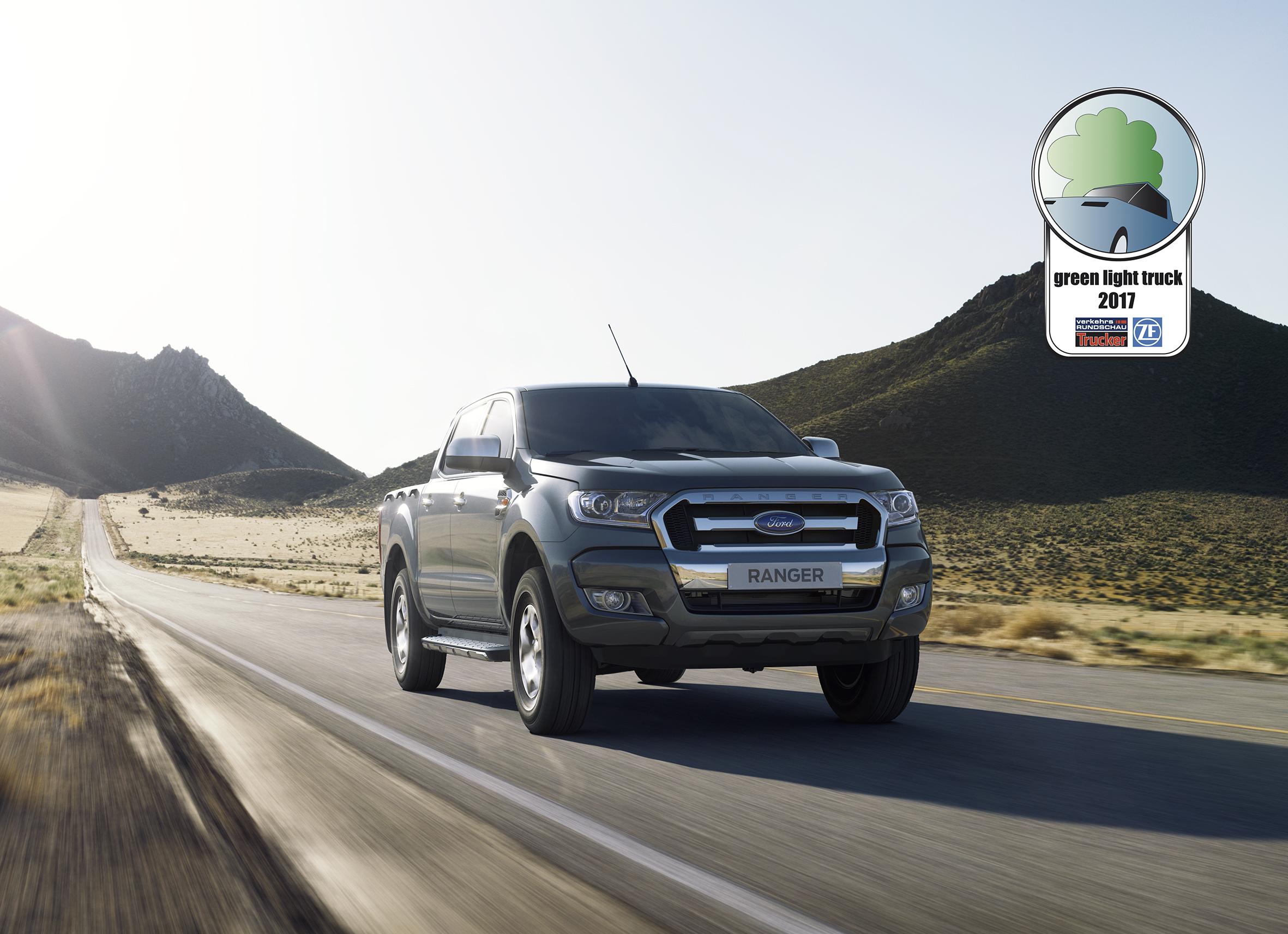 Ford Ranger 22 L TDCi Ist Der QuotGreen Light Truck