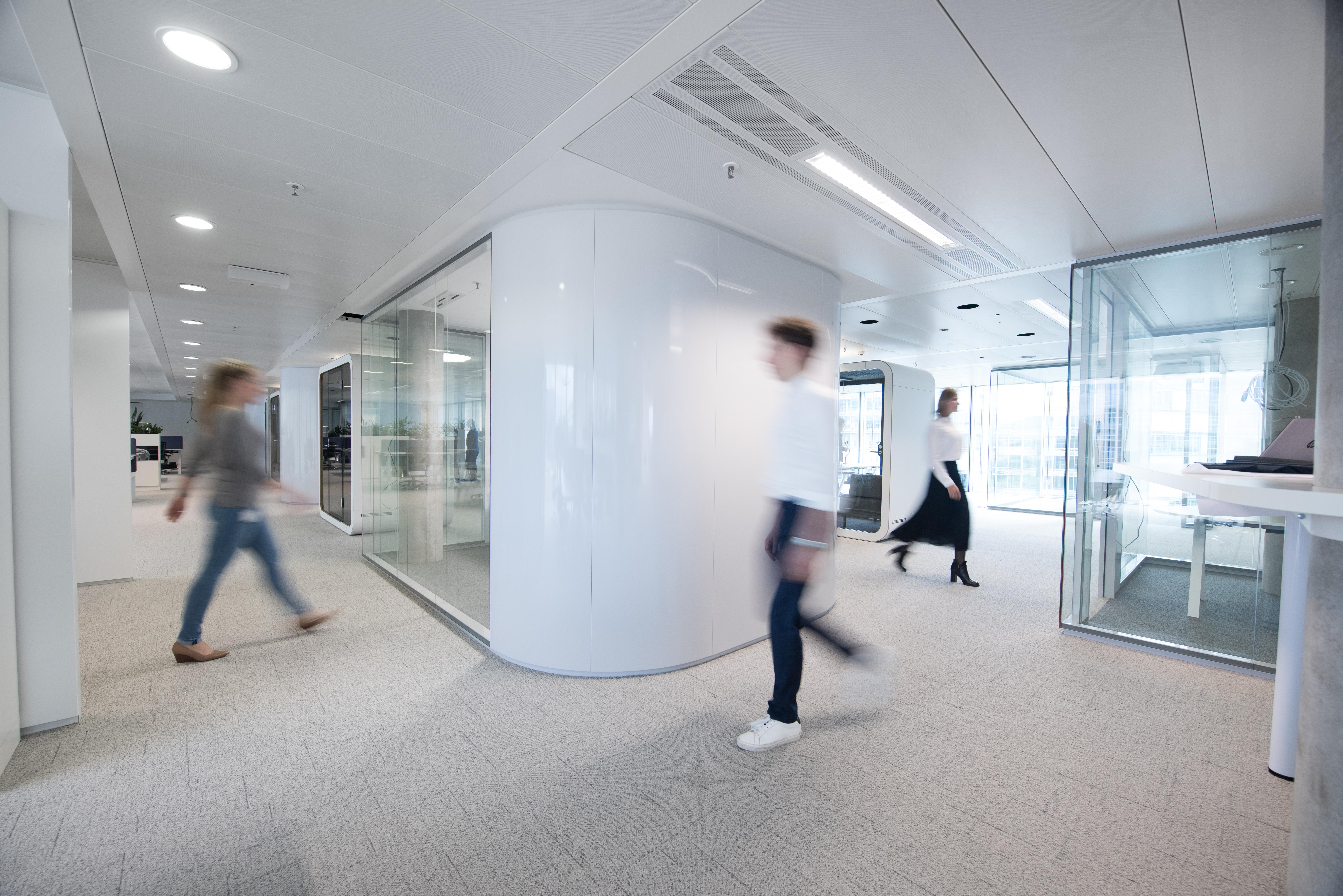 ▷ l oréal suisse transforme ses bureaux en espaces de travail