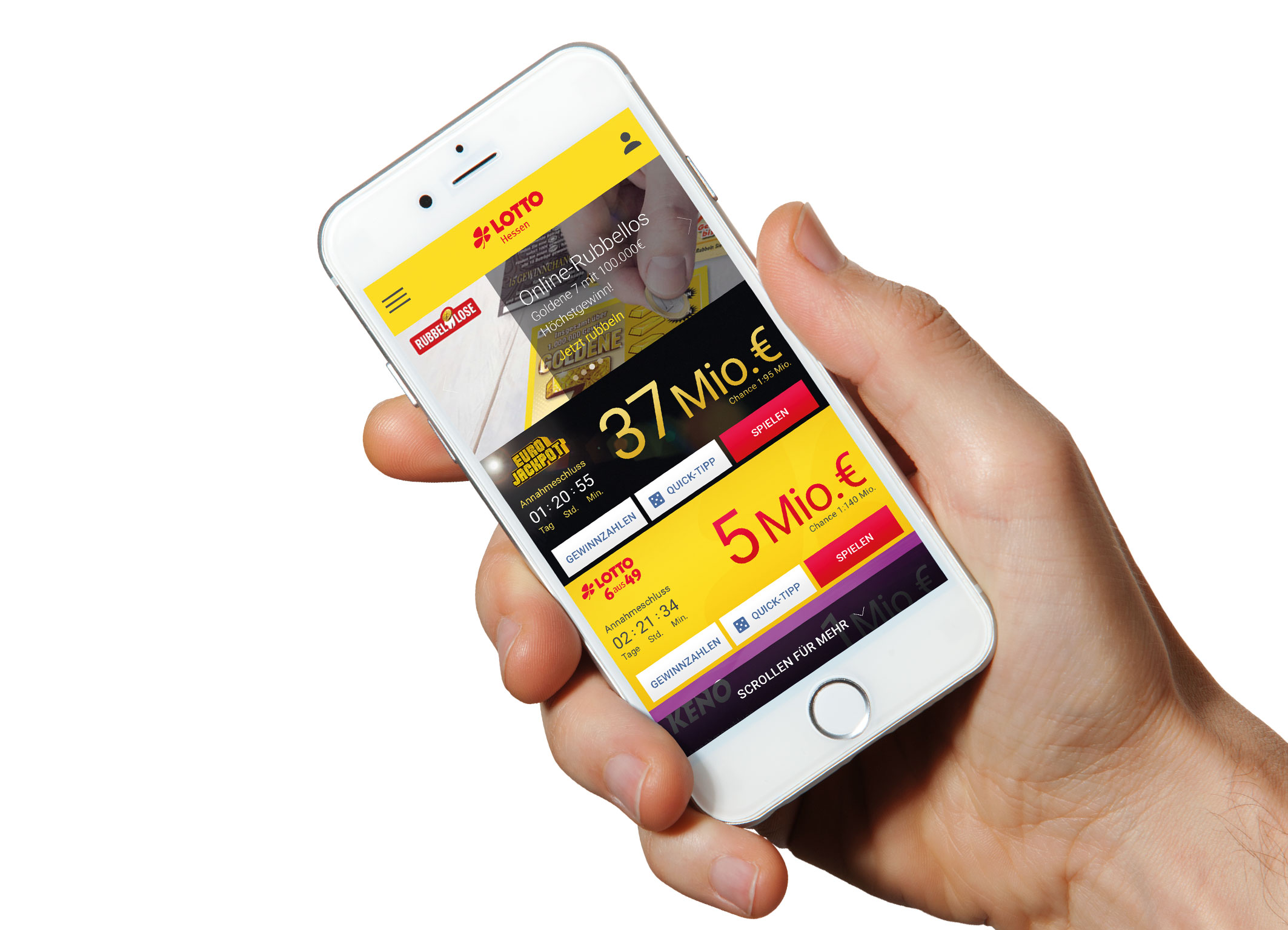 Lotto auf win2day - die Spieleseite der sterreichischen
