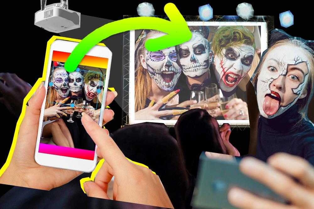 Halloween Idee.Halloween Party Idee Fotos Mit Gruselkostumen Vom Handy