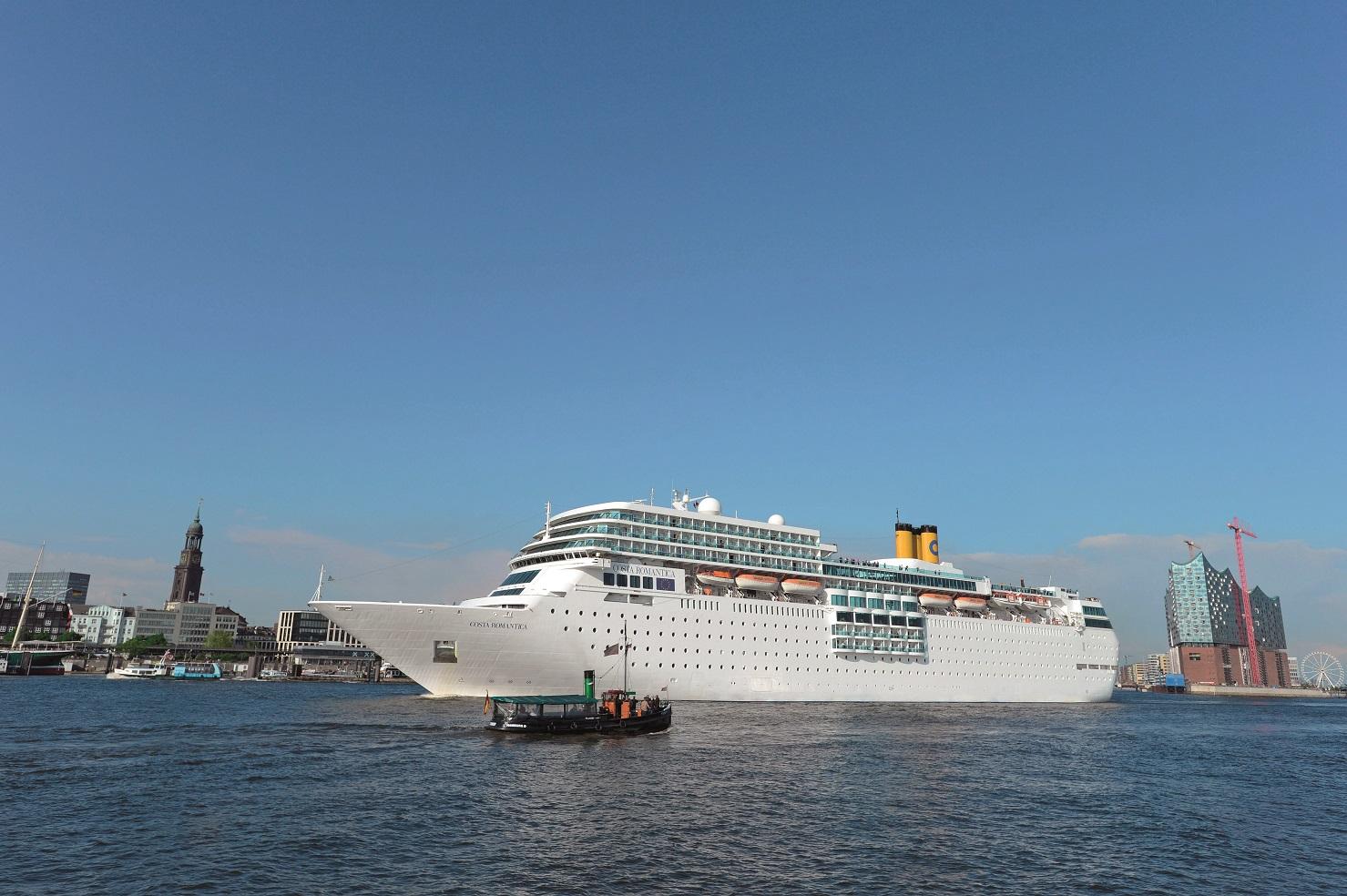 Costa Kreuzfahrten Auf Den Hamburg Cruise Days 2015 Großes
