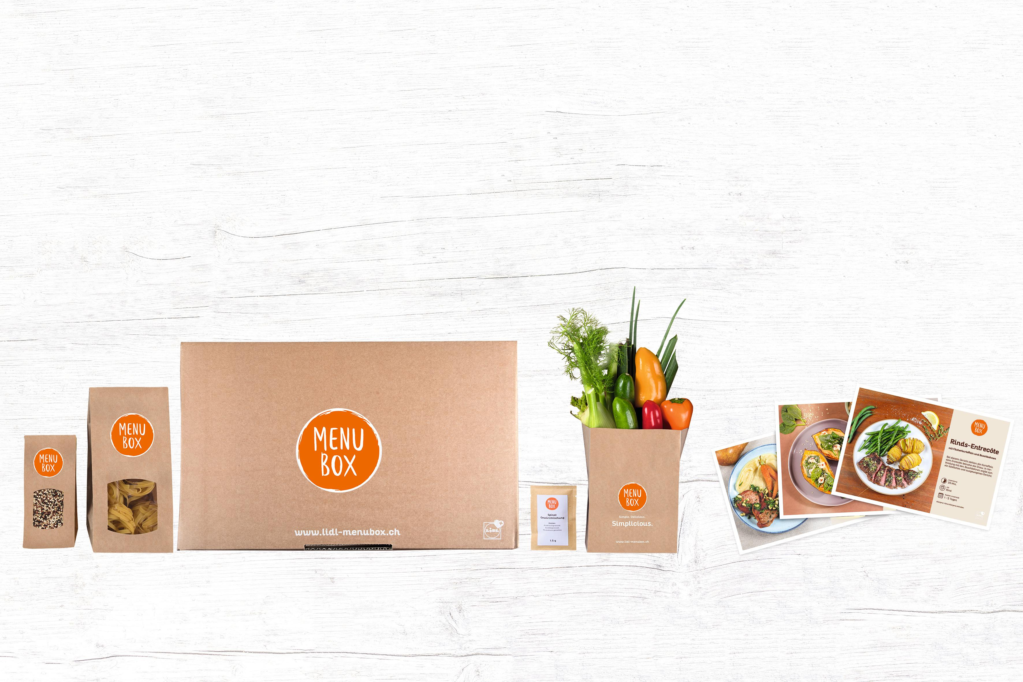lidl schweiz lanciert kochboxen zum online bestellen medienmitteilung lidl schweiz. Black Bedroom Furniture Sets. Home Design Ideas