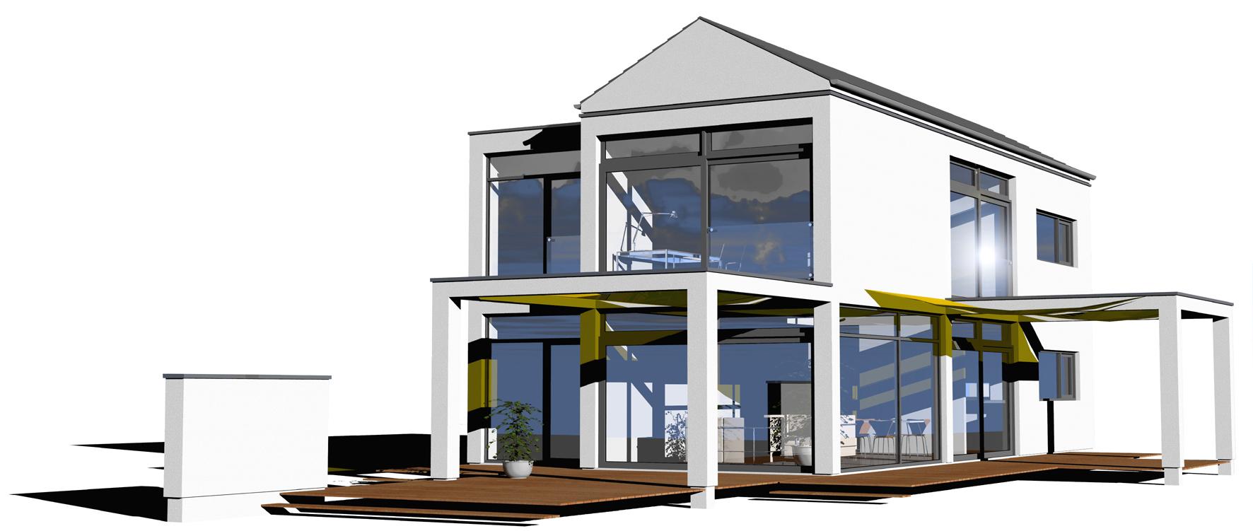 Das Haus Der Zukunft Moderne Architektur Mit Viel Glas
