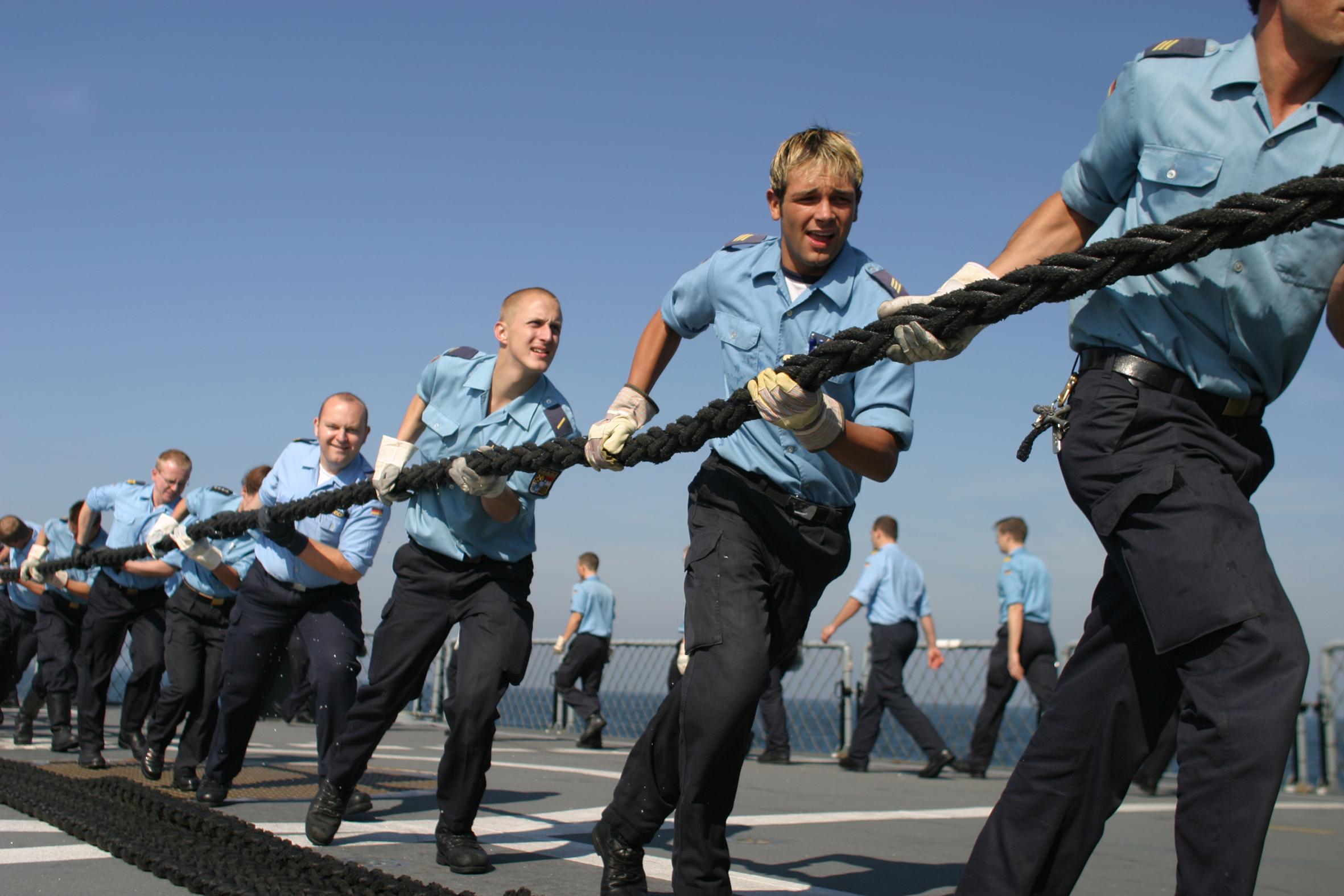 Können Frauen in der Marine sein