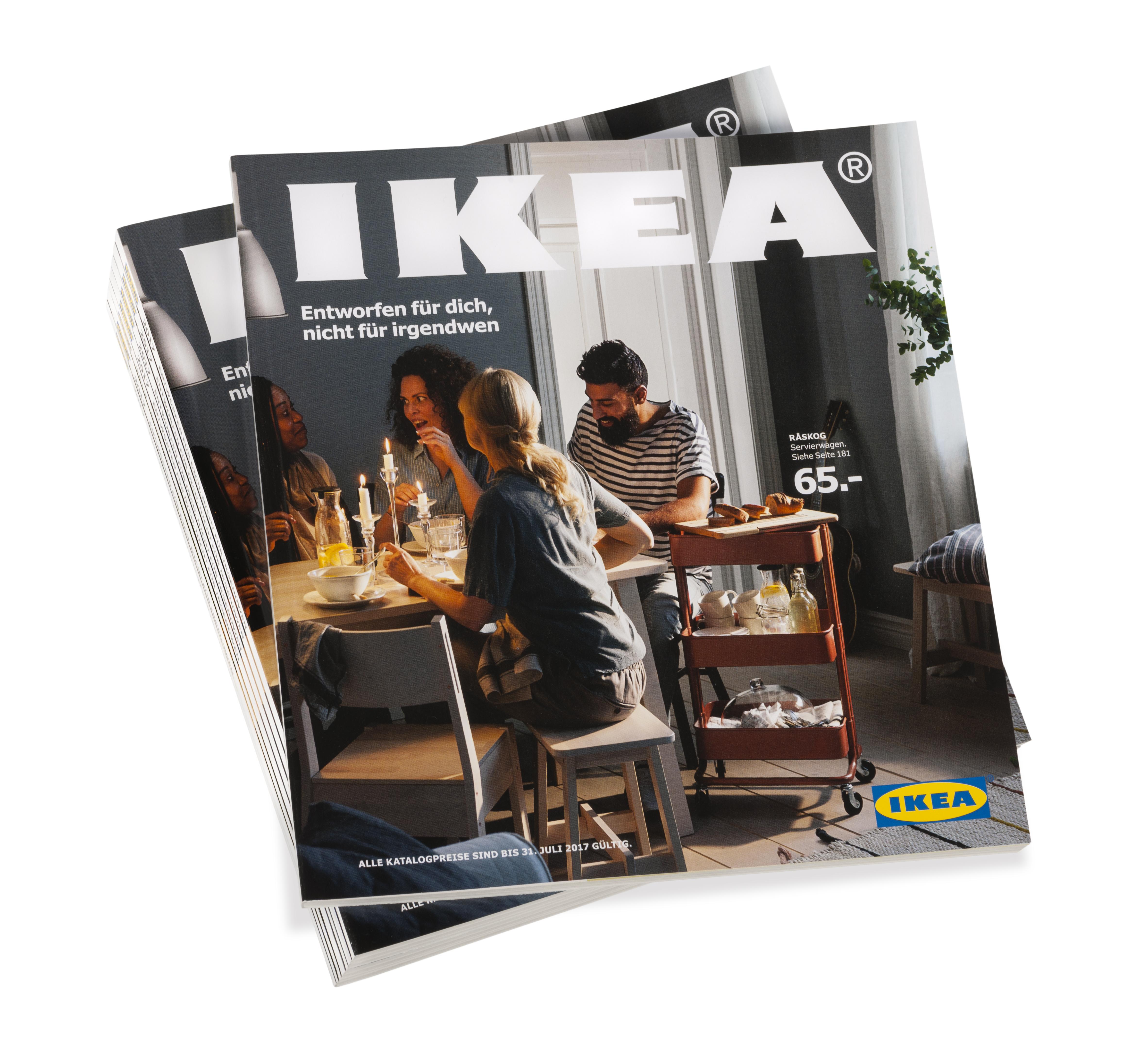 entworfen f r dich nicht f r irgendwen der ikea katalog 2017 feiert die presseportal. Black Bedroom Furniture Sets. Home Design Ideas
