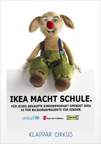 ikea macht schule start der spendeninitiative 2011 f r unicef und save the children. Black Bedroom Furniture Sets. Home Design Ideas