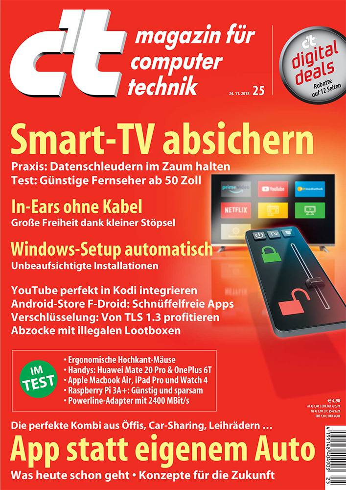 smart tvs im c 39 t test datenschleudern im zaum halten presseportal. Black Bedroom Furniture Sets. Home Design Ideas