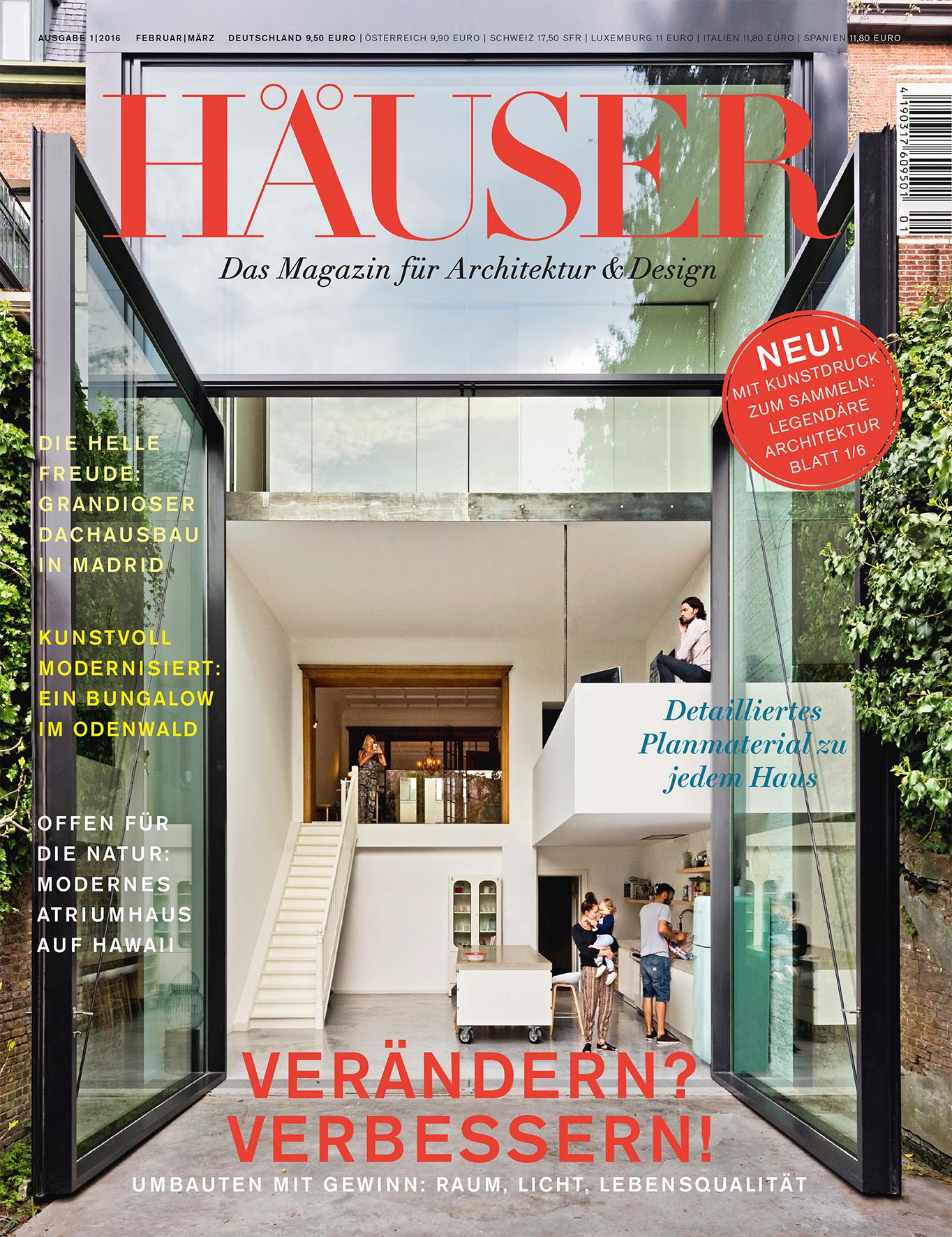 Spektakuläre Häuser: Deutschlands Premium-Architektur-Magazin HÄUSER ...