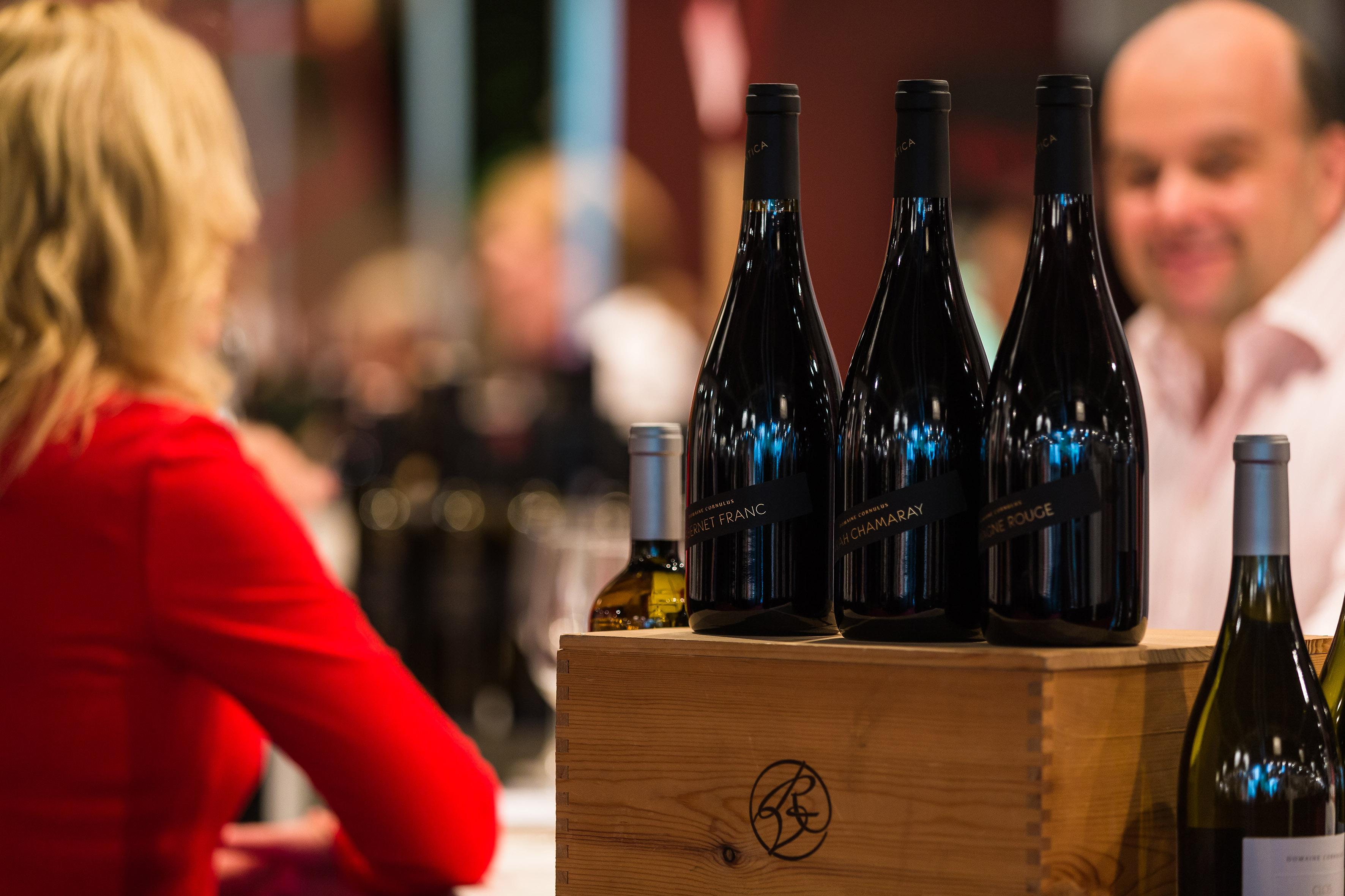 Ouverture du salon du vin de b le 2017 le d but du for Salon du vin nice
