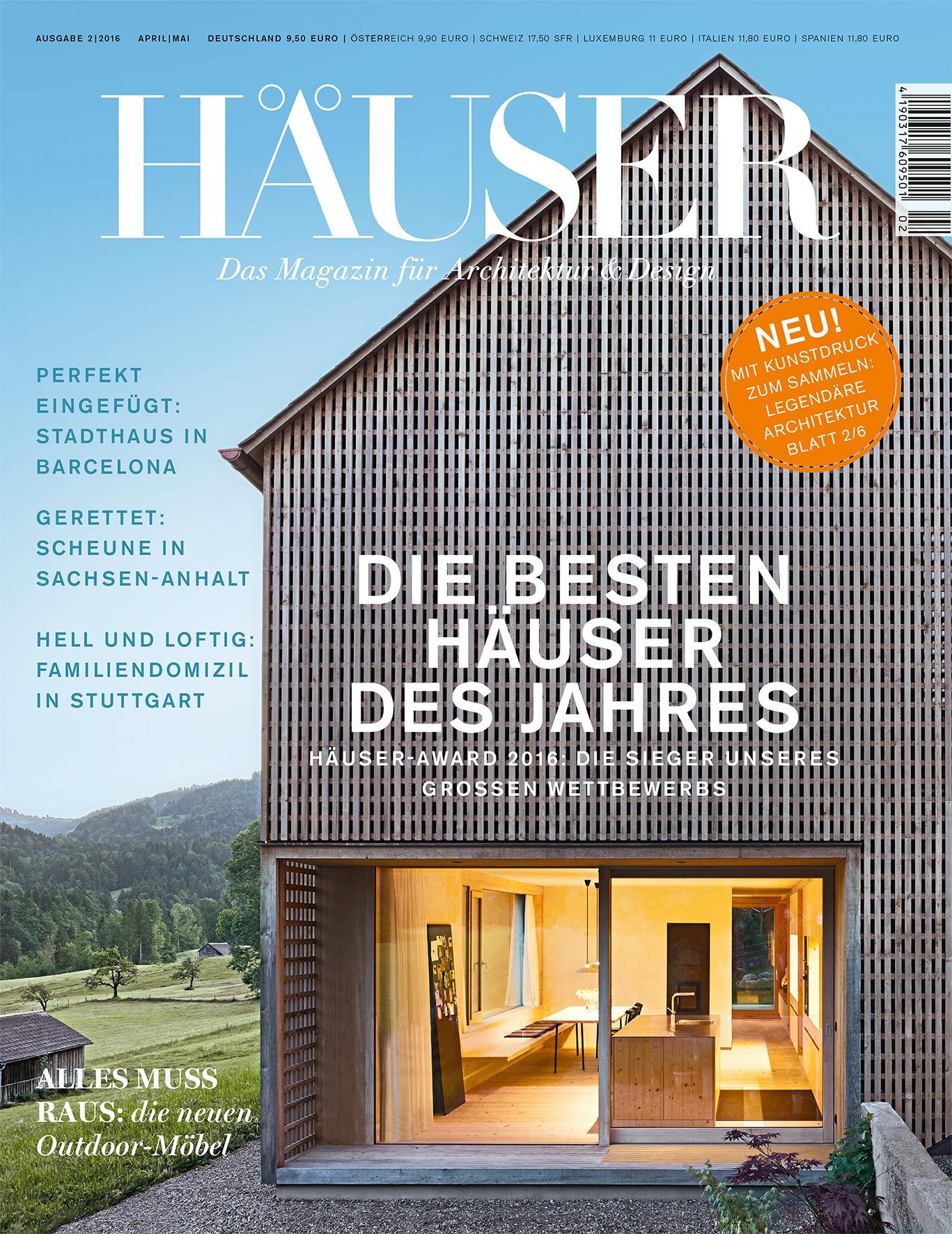 h user award 2016 die besten einfamilienh user europas die siegerobjekte stehen. Black Bedroom Furniture Sets. Home Design Ideas