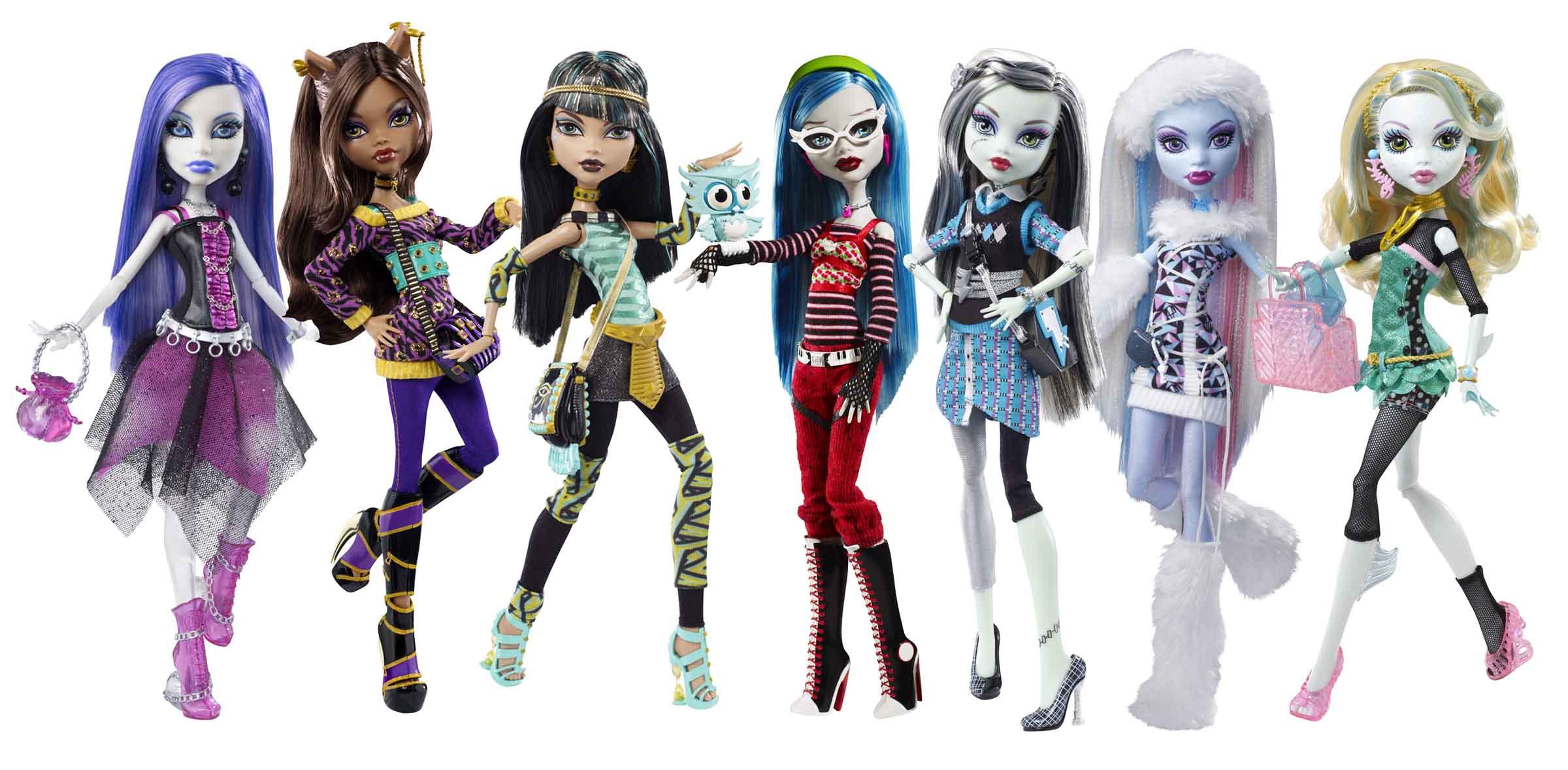 Monster Für Einen Tag Mattel Und Toysrus Laden Ein Zum