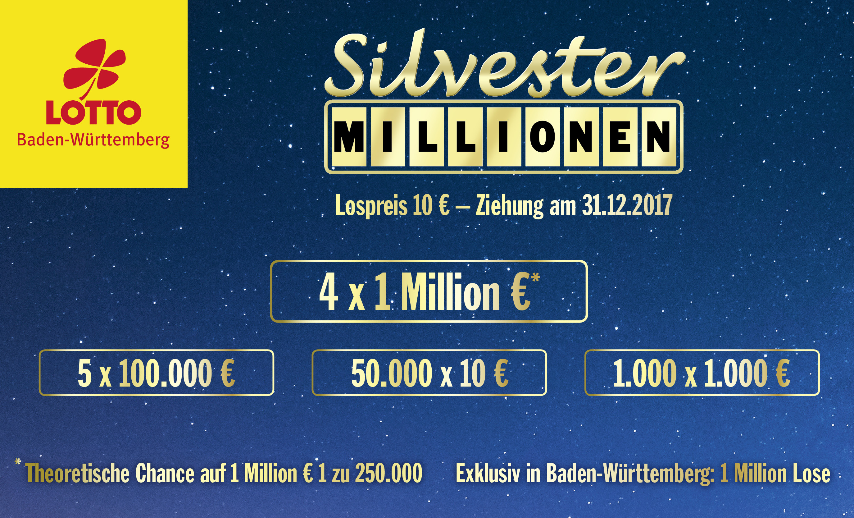 Sylvester Millionen
