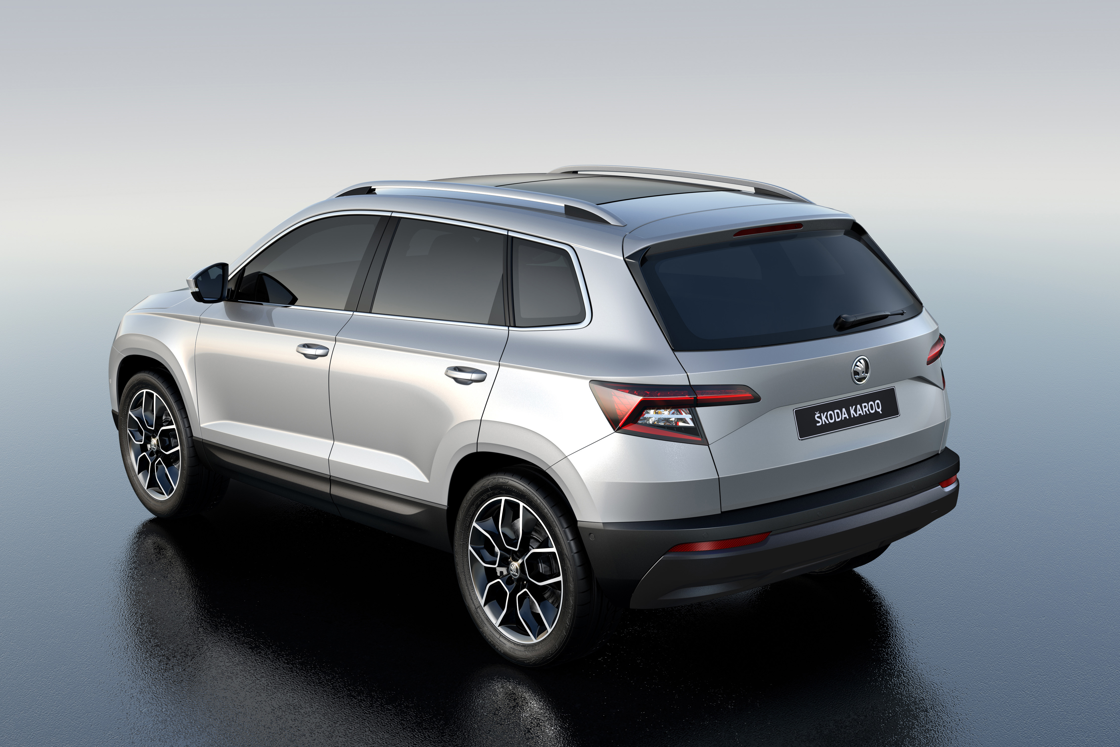 skoda karoq neues kompaktes suv mit viel platz und modernster technik presseportal. Black Bedroom Furniture Sets. Home Design Ideas