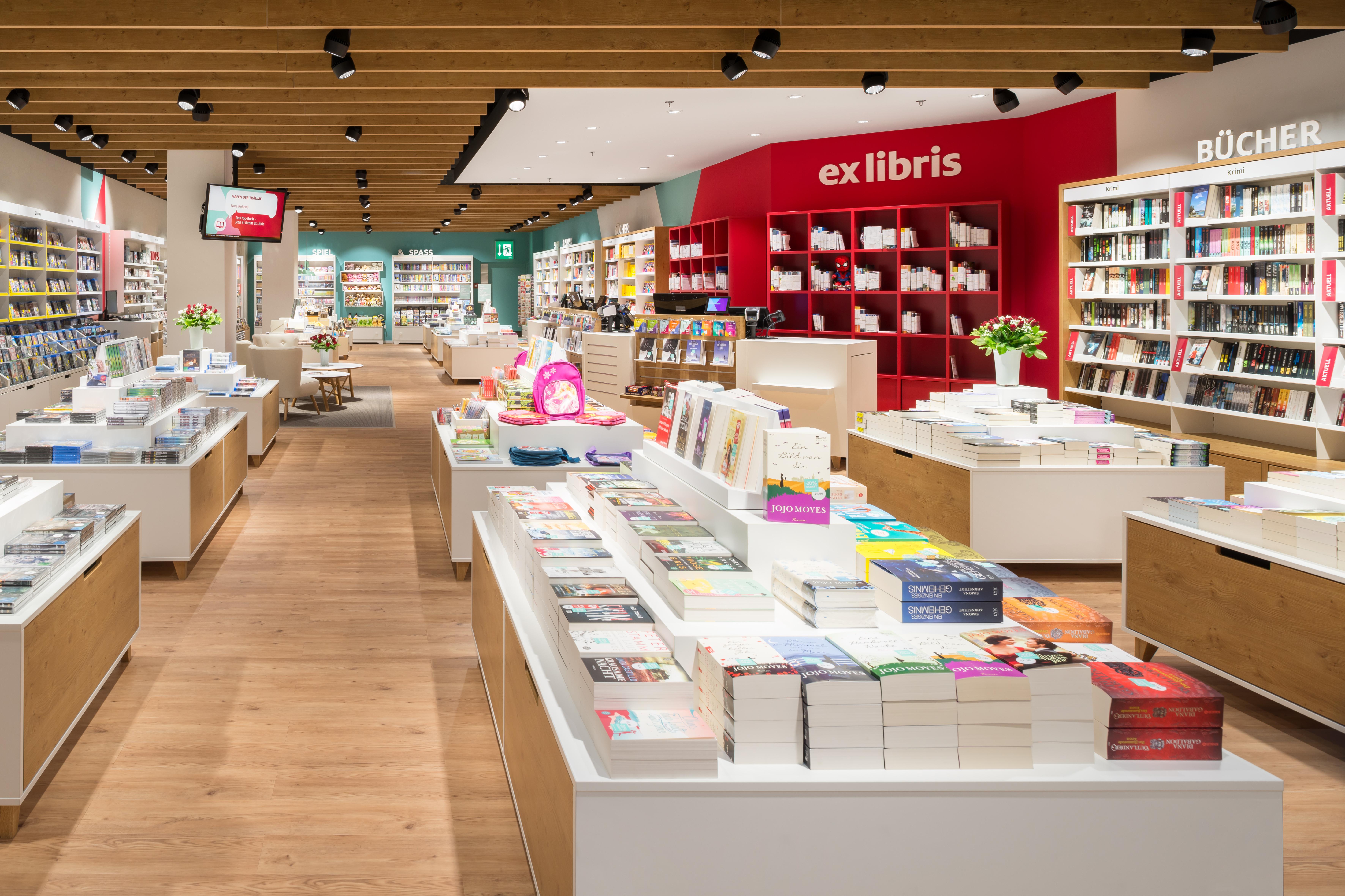 Neues Ladenkonzept Für Ex Libris Im Glattzentrum Presseportal