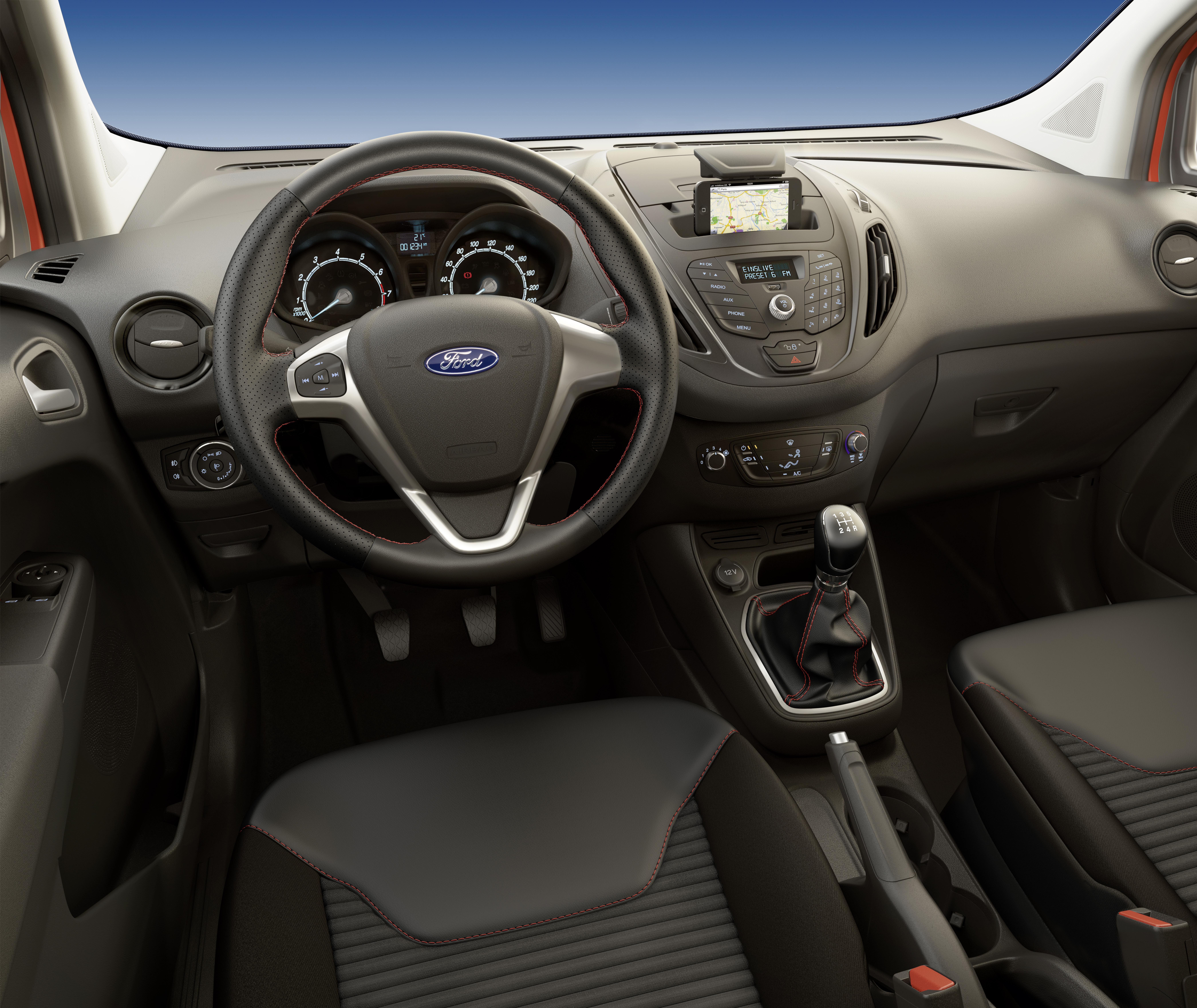 Ford Transit Courier Und Tourneo Jetzt Auch Als QuotSportquot Modelle