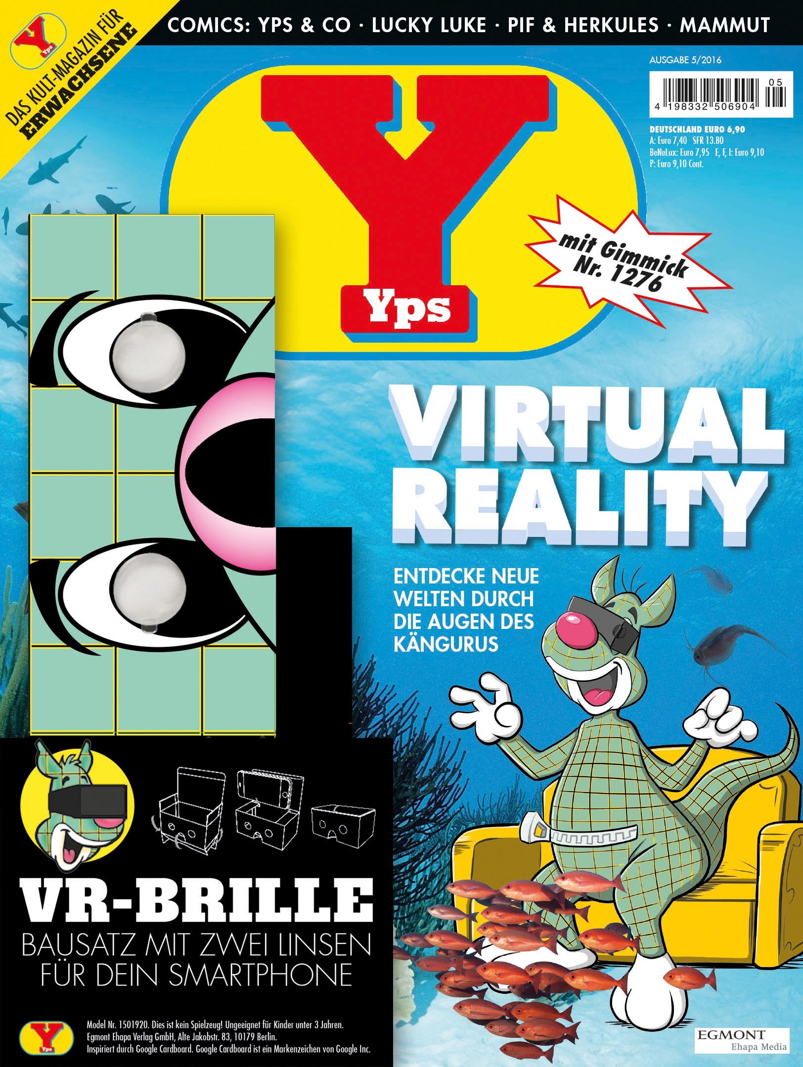 yps goes virtual reality pressemitteilung egmont ehapa media gmbh. Black Bedroom Furniture Sets. Home Design Ideas