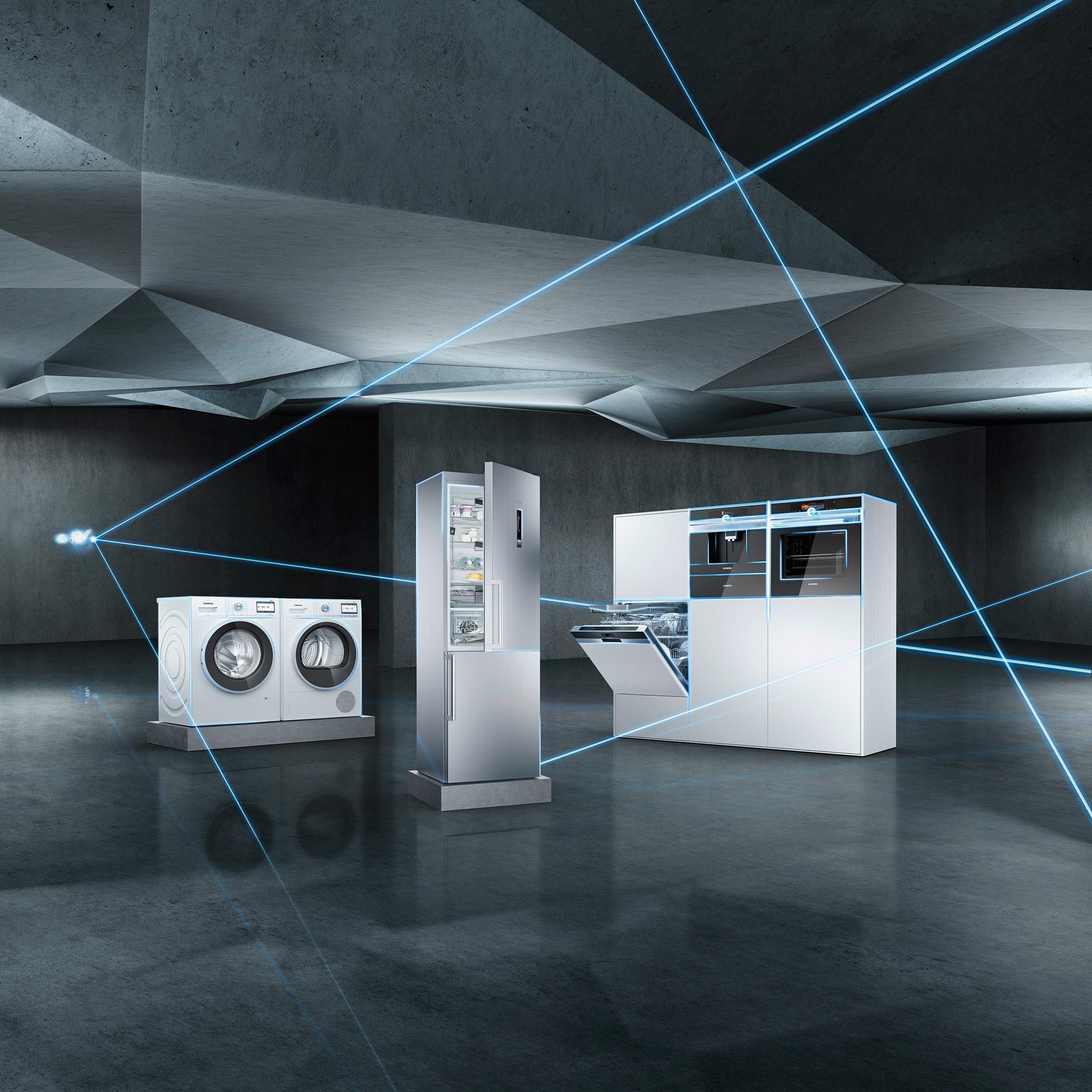 Küche Mit Siemens Geräten | Die Smarte Kuche Von Siemens Ist Komplett Mit Connectivityfahigen