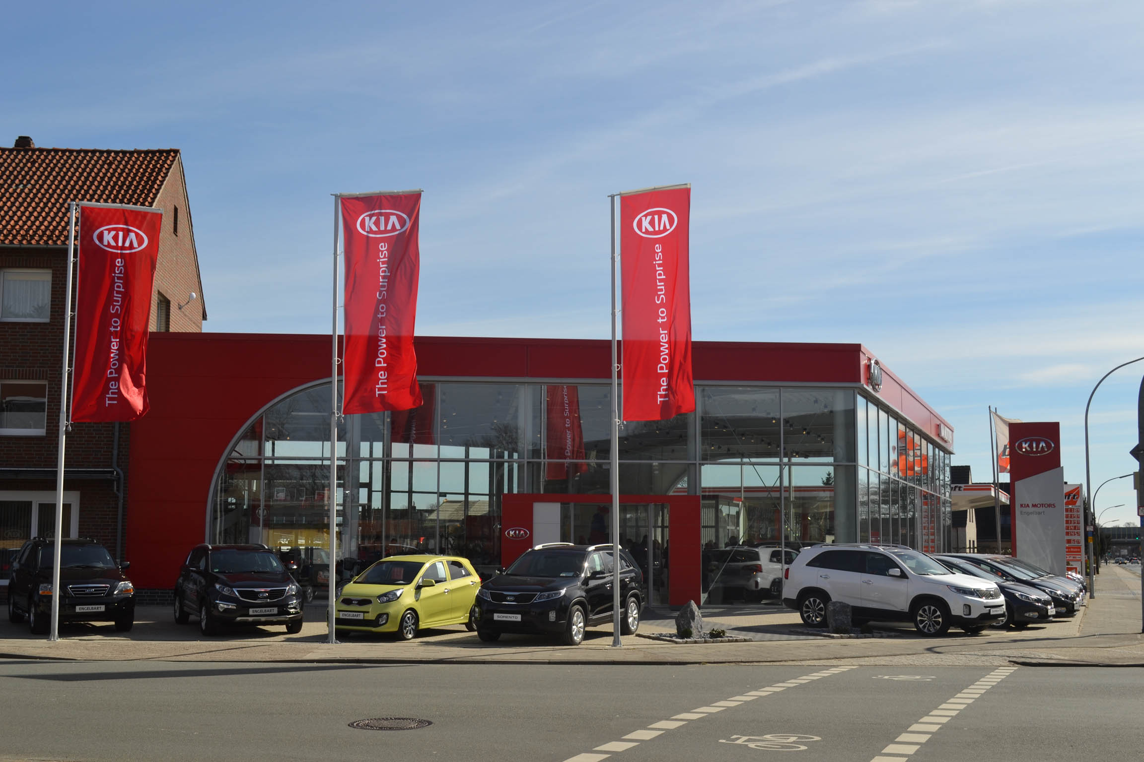 ▷ Kia-Autohaus Engelbart in Delmenhorst eröffnet Neubau im ...