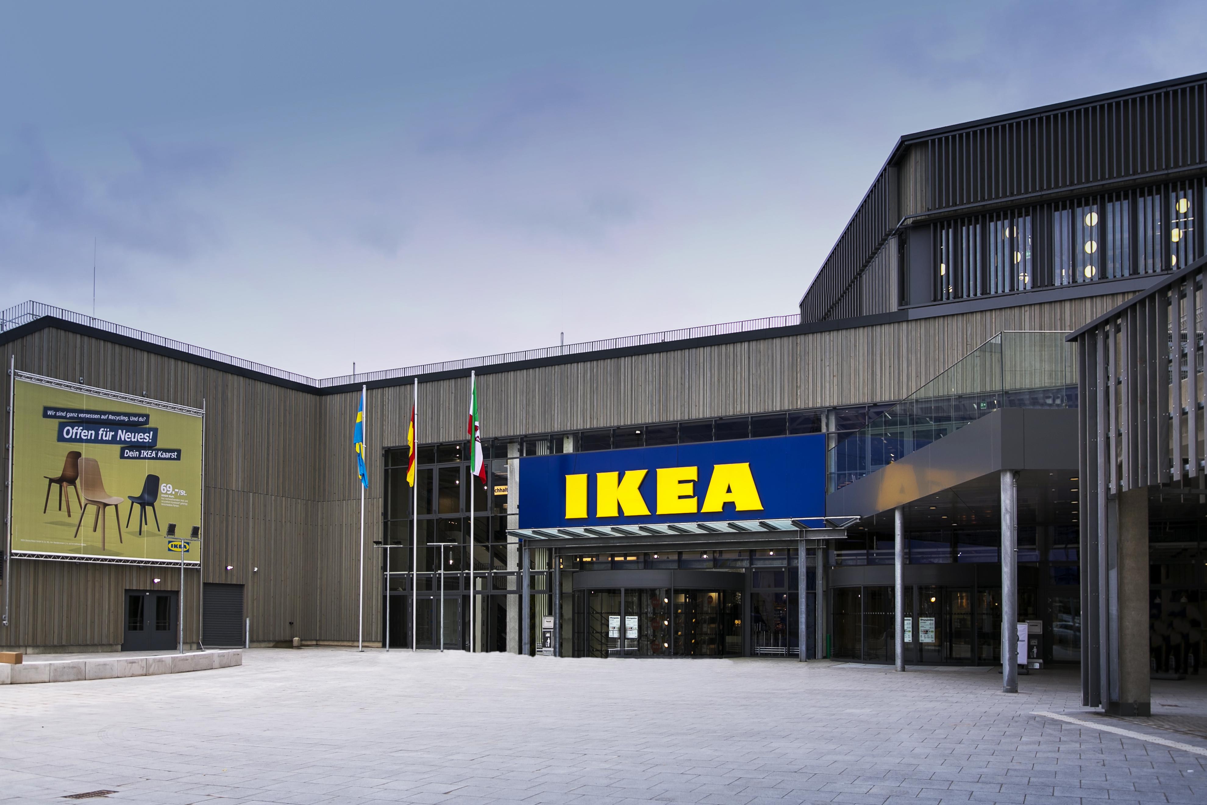 offen f r neues ikea er ffnet sein weltweit nachhaltigstes einrichtungshaus in kaarst. Black Bedroom Furniture Sets. Home Design Ideas