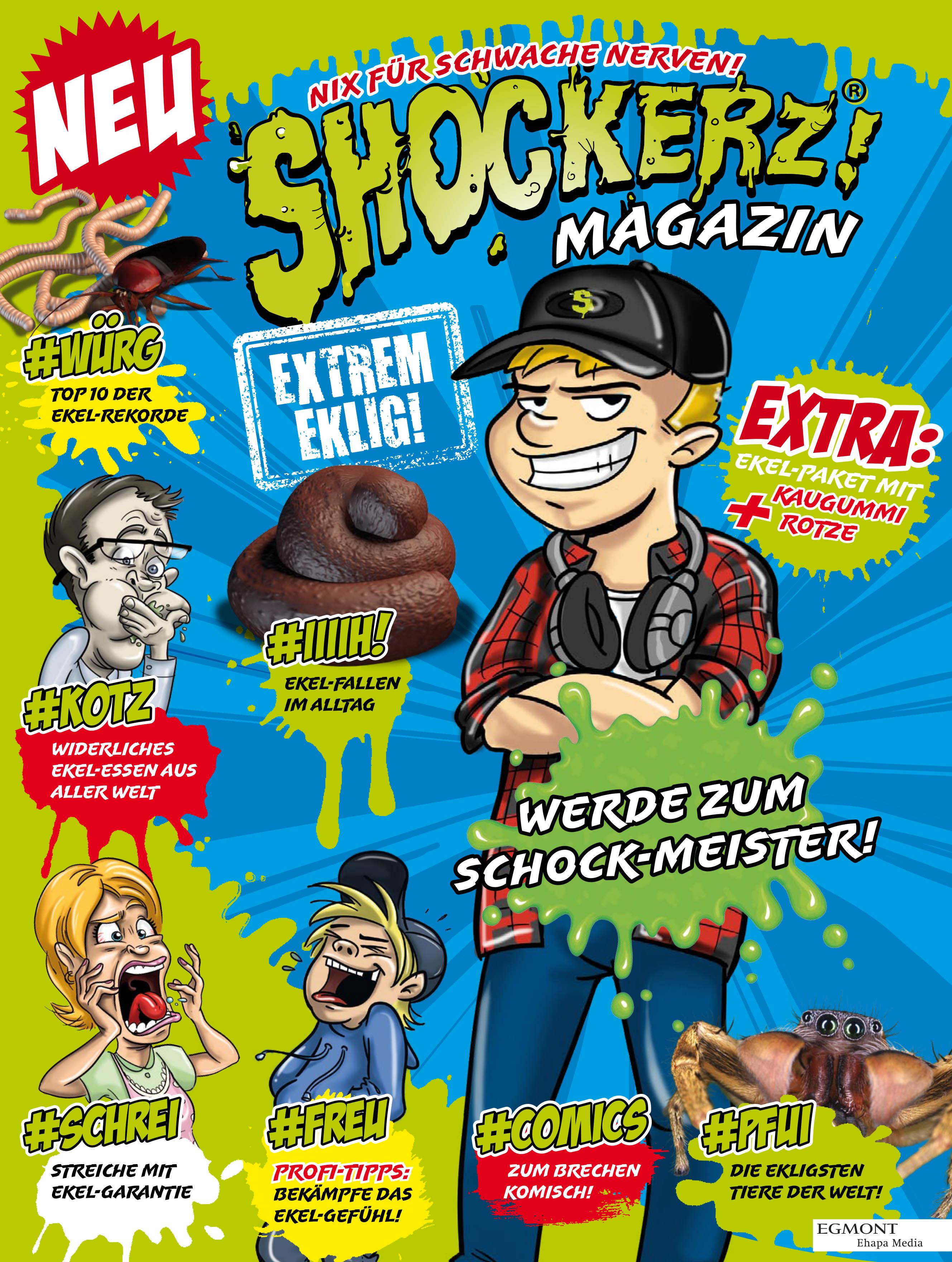 Egmont Ehapa Launcht Toy Story Magazin: Nix Für Schwache Nerven: Shockerz Sammelserie Und Magazin