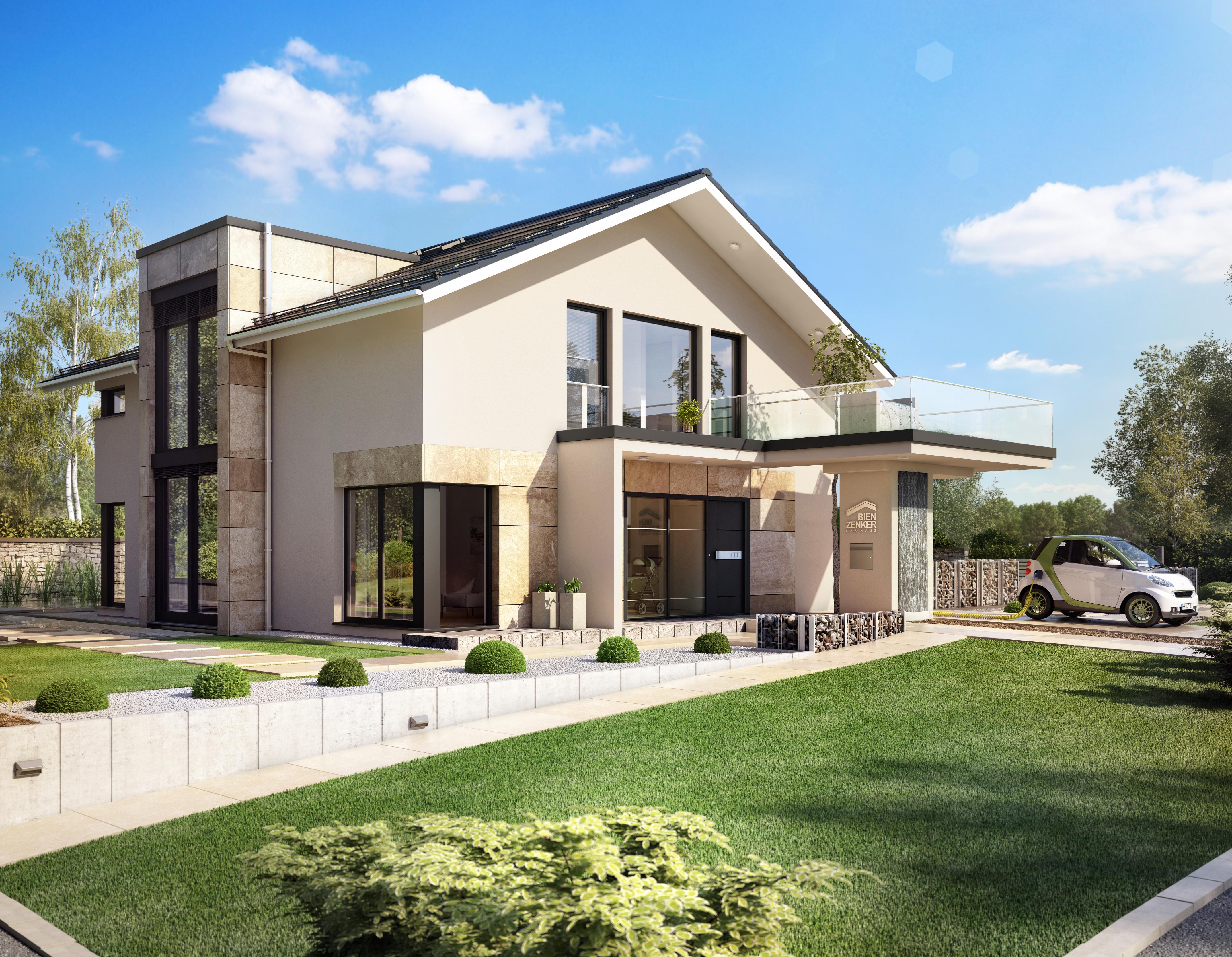 das neue nachhaltige design haus von bien zenker high. Black Bedroom Furniture Sets. Home Design Ideas