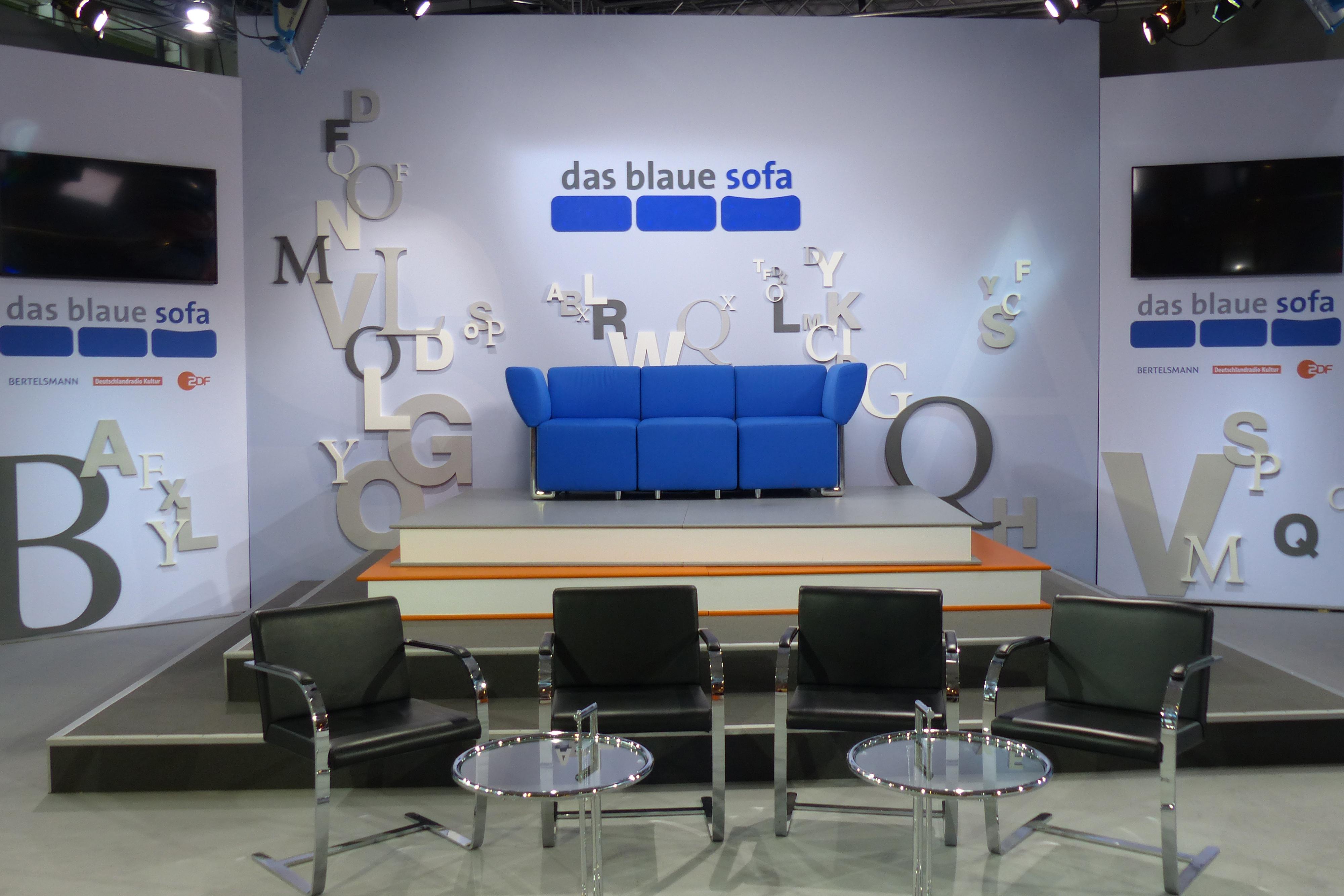 Frankfurter Buchmesse 2018 Das Blaue Sofa Mit 40 Stunden Live