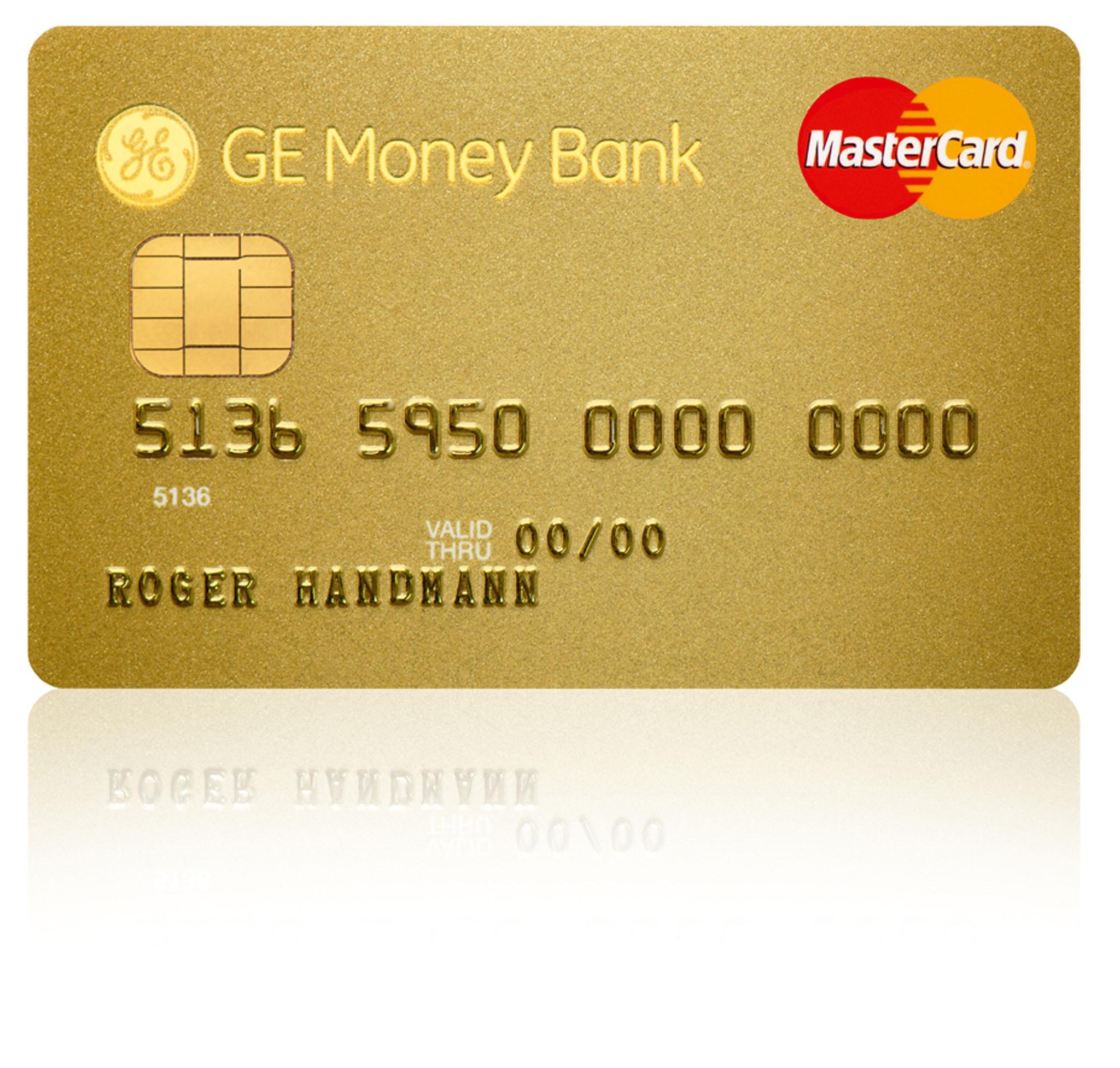 ge money bank lanciert mastercard gold und silber kreditkarten presseportal. Black Bedroom Furniture Sets. Home Design Ideas