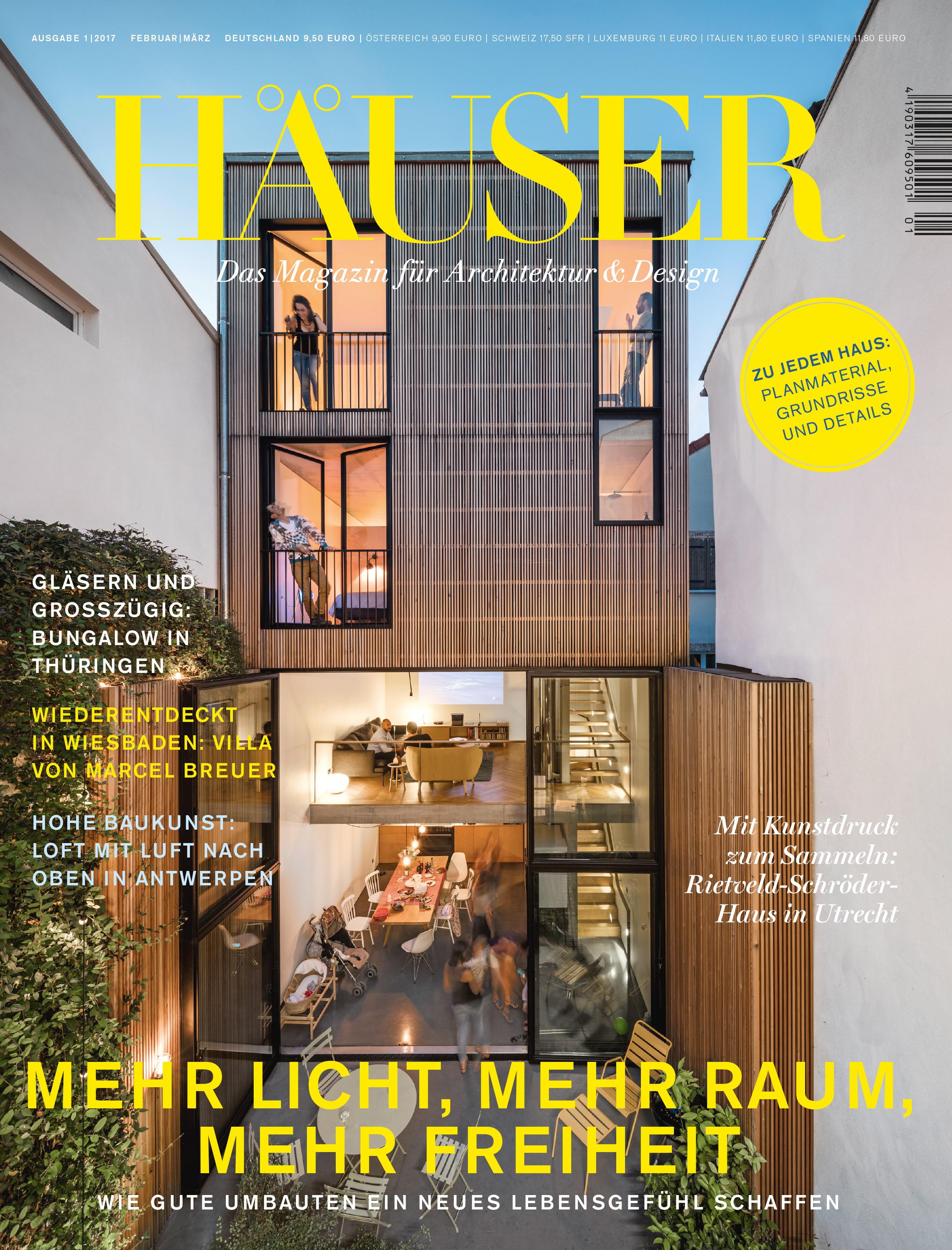 ▷ HÄUSER-AWARD 2018: Deutschlands Premium-Architektur-Magazin ...