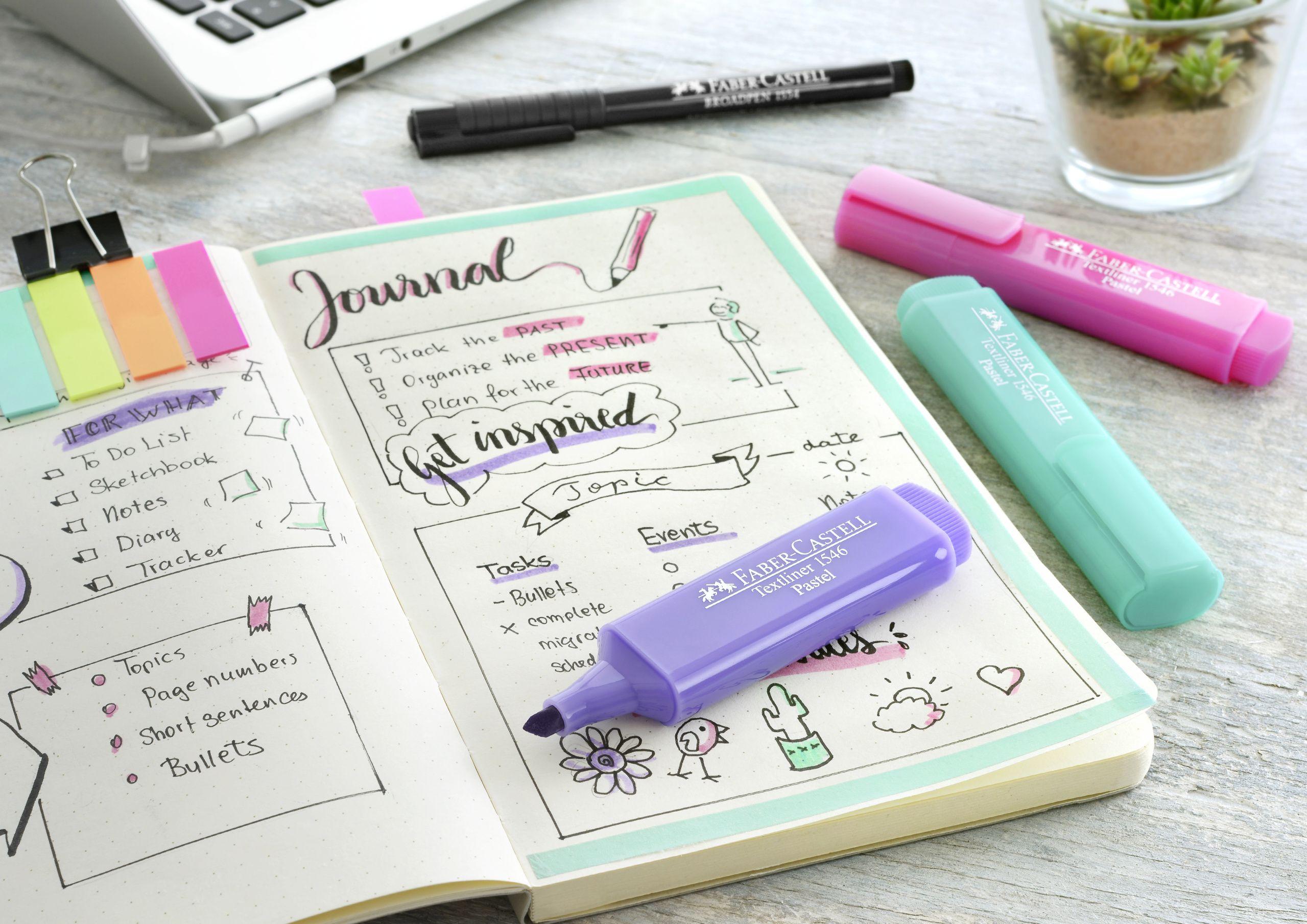 Kreativ Den Alltag Erobern Handschriftlich Gefuhrte Bullet Journals Sind Effektiver Als Digitale Terminplaner
