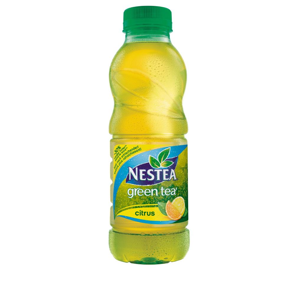 ▷ Neuer NESTEA green tea citrus - 30% weniger Zucker / Coca-Cola ...