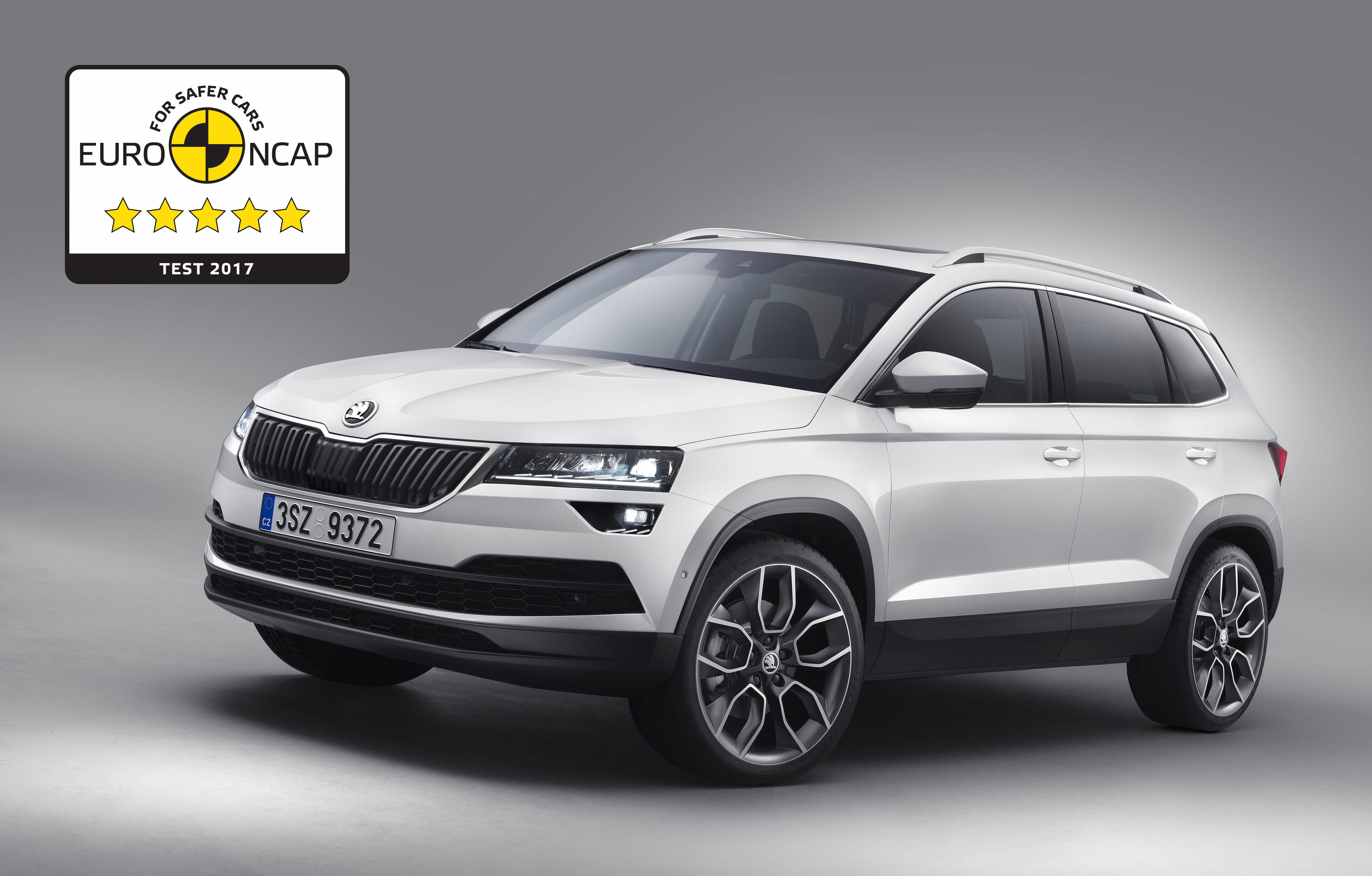 skoda karoq mit f nf sternen im euro ncap test presseportal. Black Bedroom Furniture Sets. Home Design Ideas