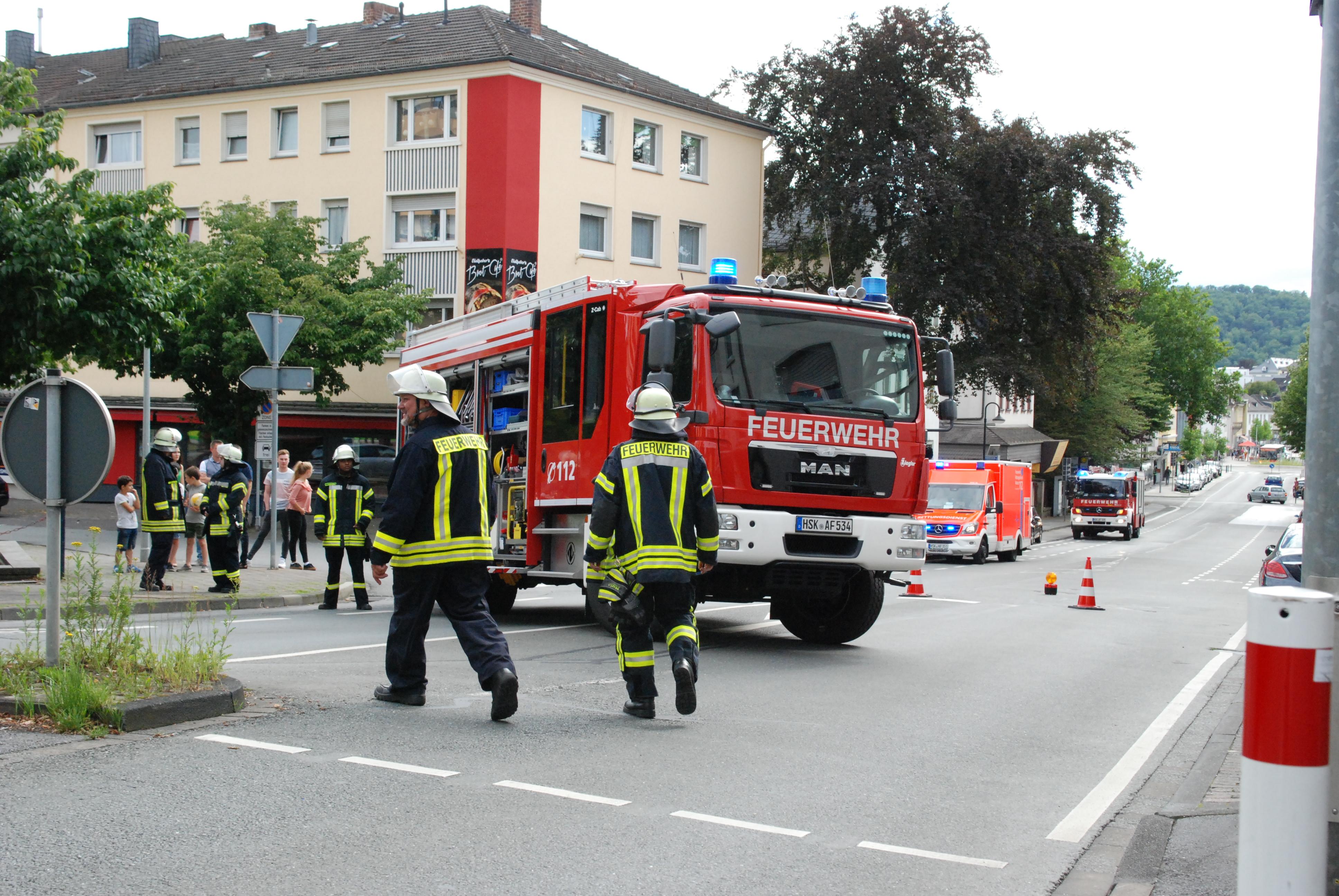 Bensheim Feuerwehreinsatz