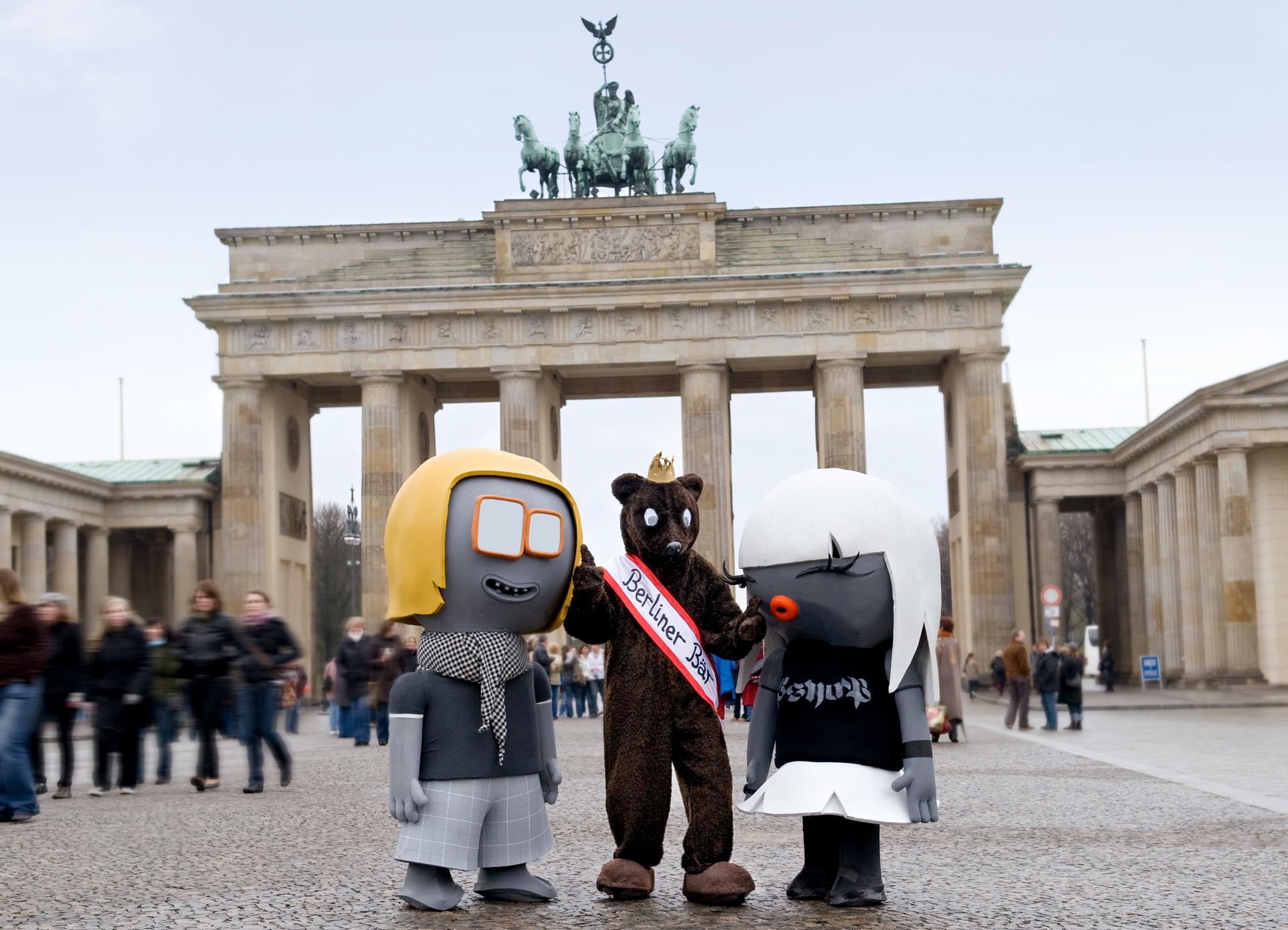 berliner b r begr t au ergew hnliche g ste deutschlands beliebtestes st dteziel lockt. Black Bedroom Furniture Sets. Home Design Ideas
