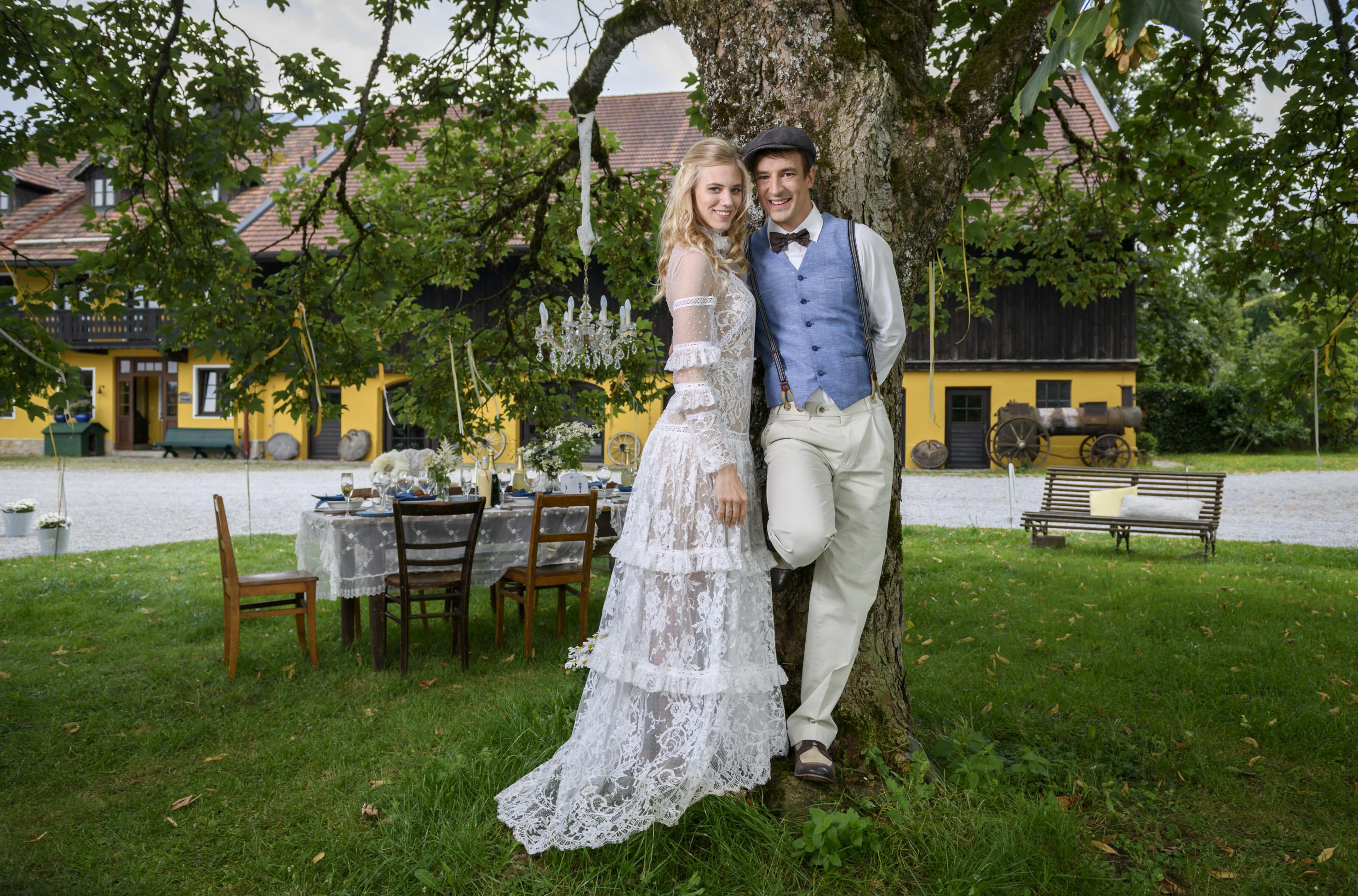 Sturm der Liebe: Sebastian Fischer und Larissa Marolt verlassen den Fürstenhof