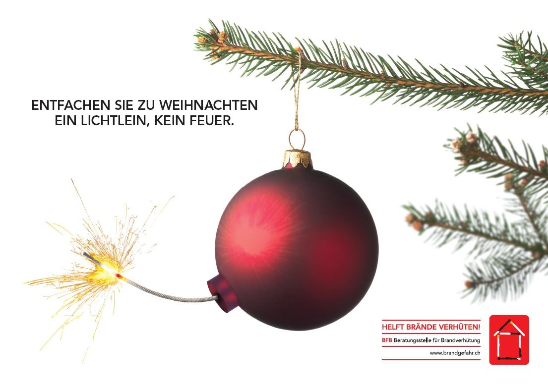 ▷ BfB-Präventions-Kampagne für brandfreie Weihnachten / An ...