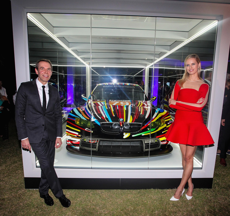 ▷ Jeff Koons\' BMW Art Car feierte Nordamerika-Premiere auf der Art ...