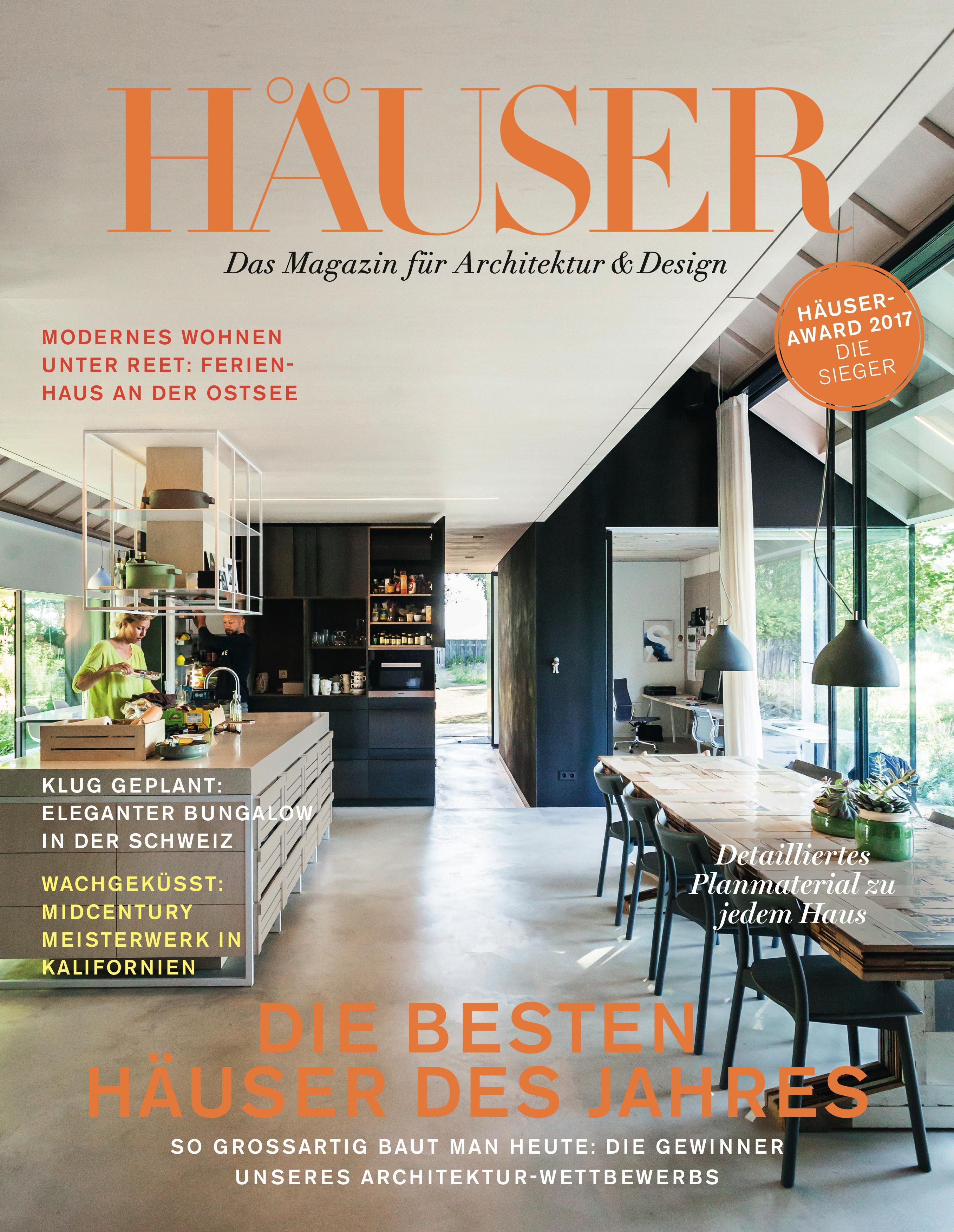 ▷ HÄUSER-AWARD 2017: Die spektakulärsten Einfamilienhäuser Europas ...
