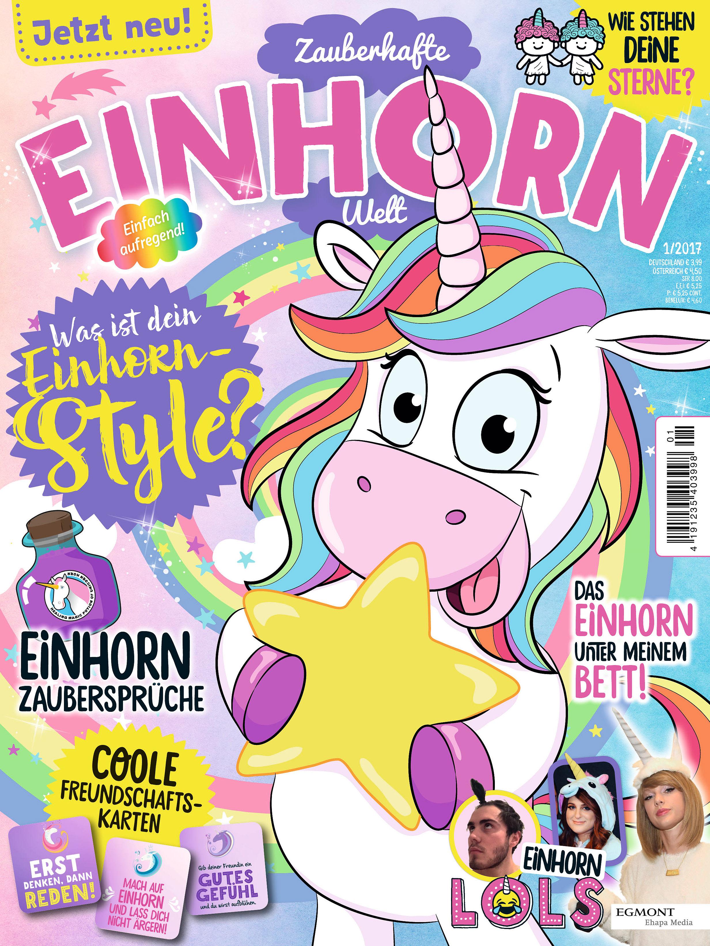 Egmont Ehapa Launcht Toy Story Magazin: Fantastische Einhörner Jetzt Als Magazin: Zauberhafte