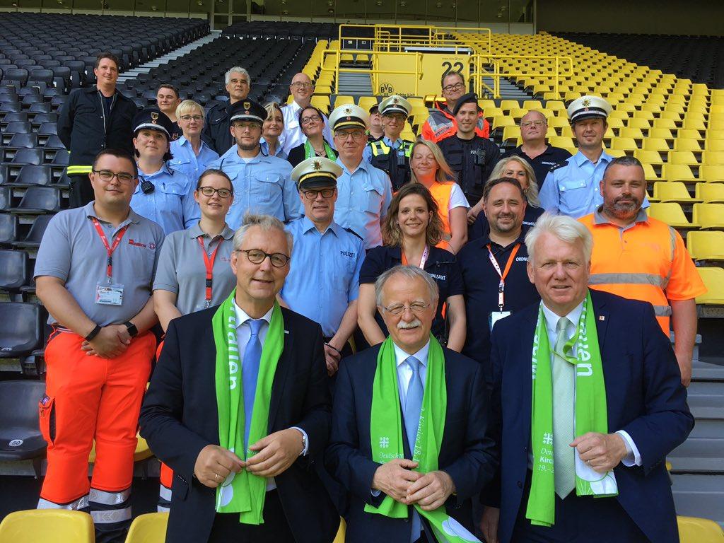 Nordrhein-Westfalen: Kirchentags-Schlussgottesdienst im Dortmunder Stadion