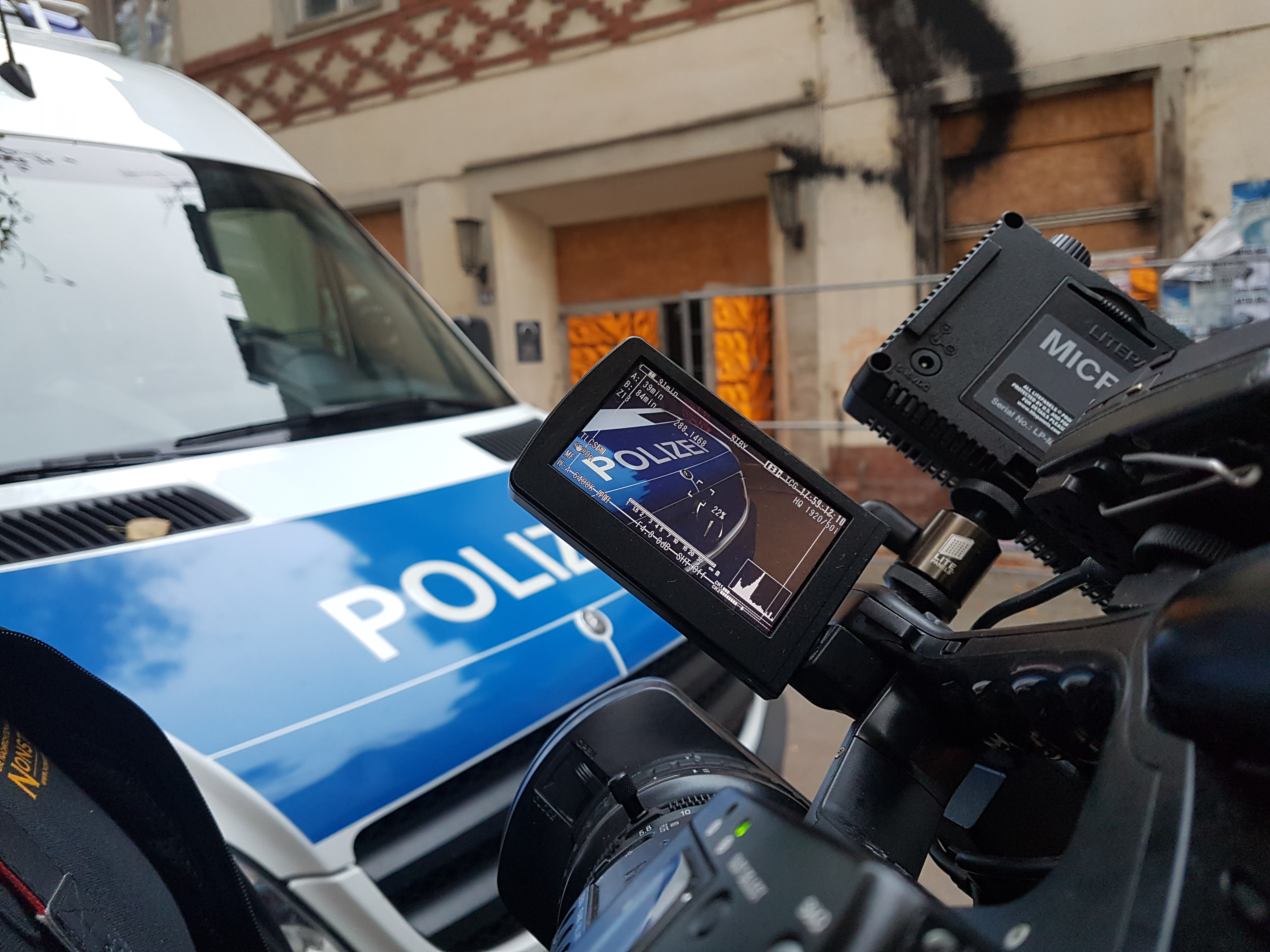 Polizeieinsatz Rostock
