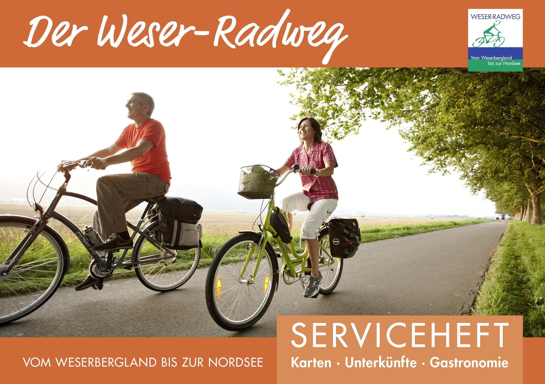 Weser Radweg Karte Pdf.Kostenfreies Serviceheft Für Den Gesamten Weser Radweg