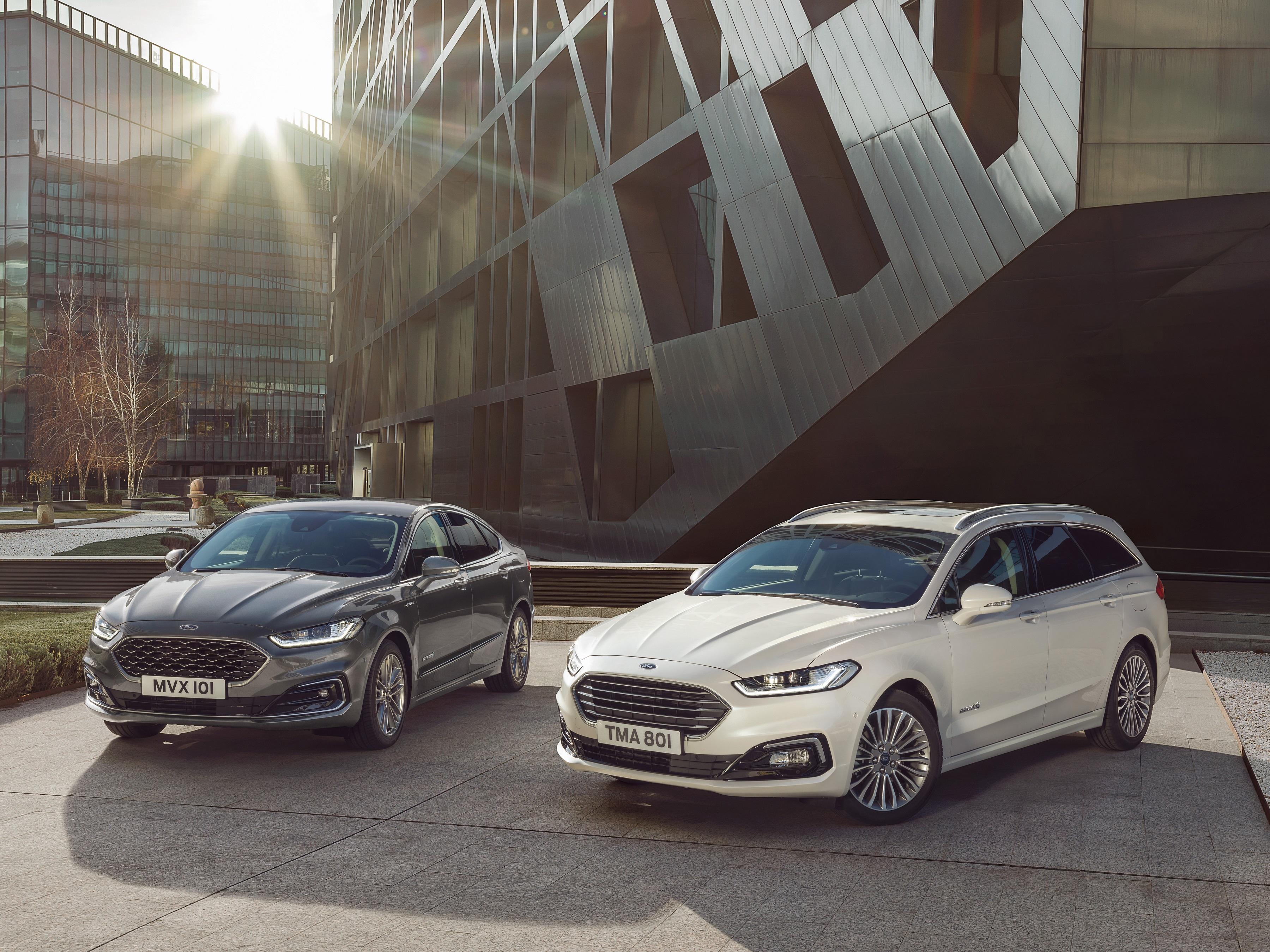 Ford Mondeo Umfangreich Aufgewertet Mit Neuem Hybrid Kombimodell