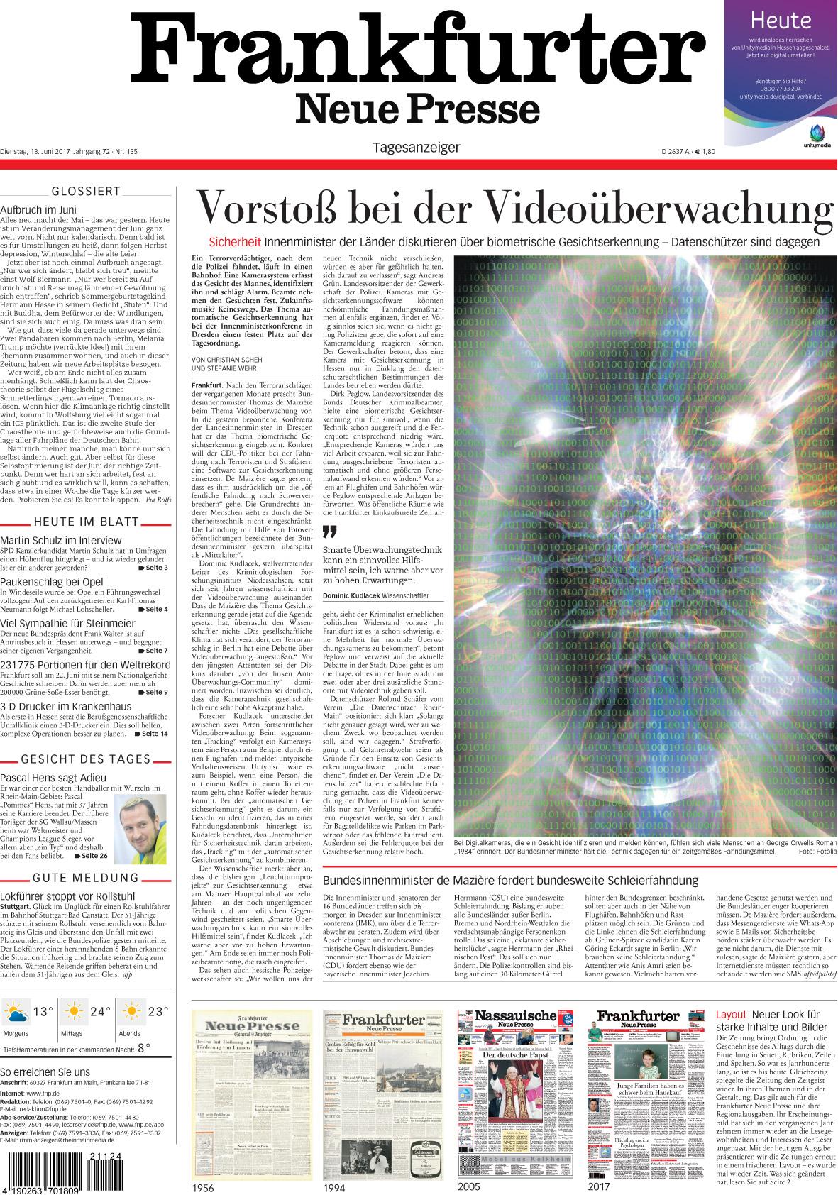 Neue Presse Frankfurt