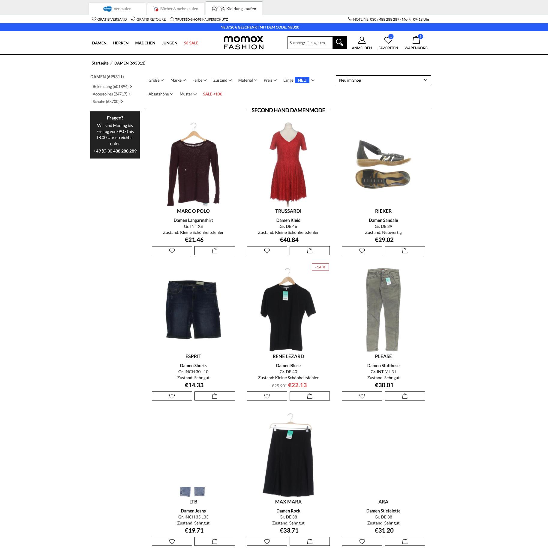 ▷ aus ubup wird momox fashion / re-commerce marktführer