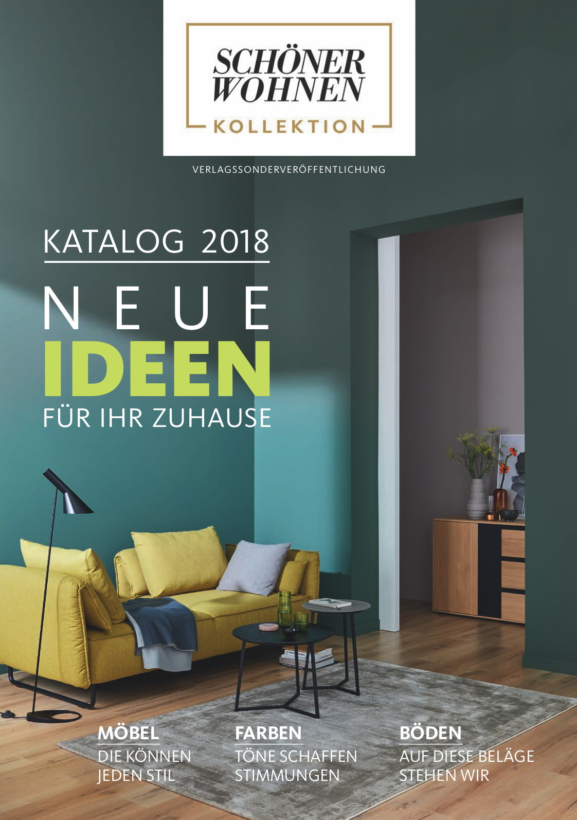 neues von der sch ner wohnen kollektion das sind die trends 2018 presseportal. Black Bedroom Furniture Sets. Home Design Ideas